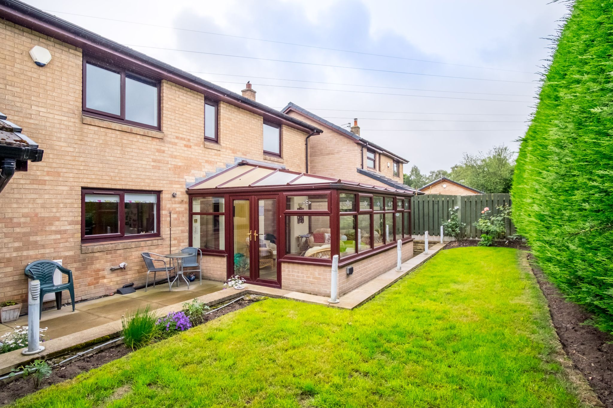 4 bedroom detached house For Sale in Brighouse - Rear garden
