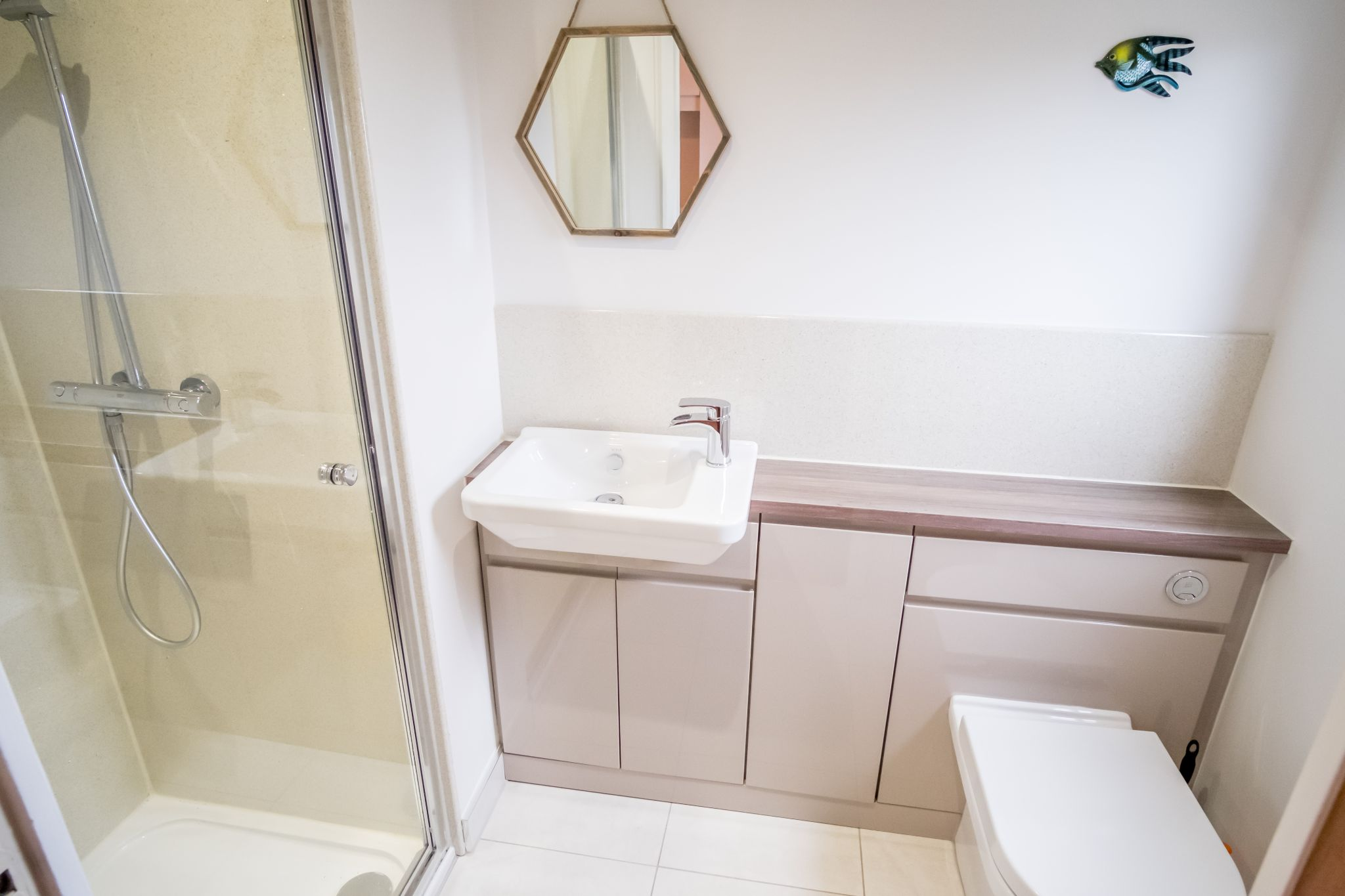 4 bedroom detached house For Sale in Brighouse - Shower room