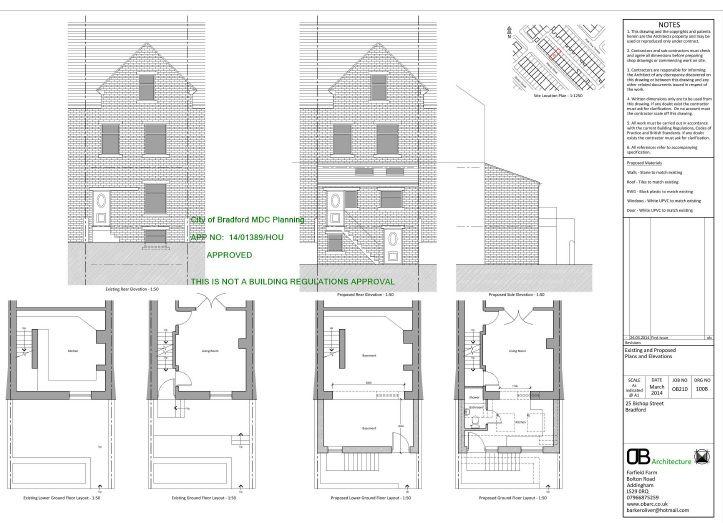 4 bedroom mid terraced house For Sale in Bradford - Floorplan 1.