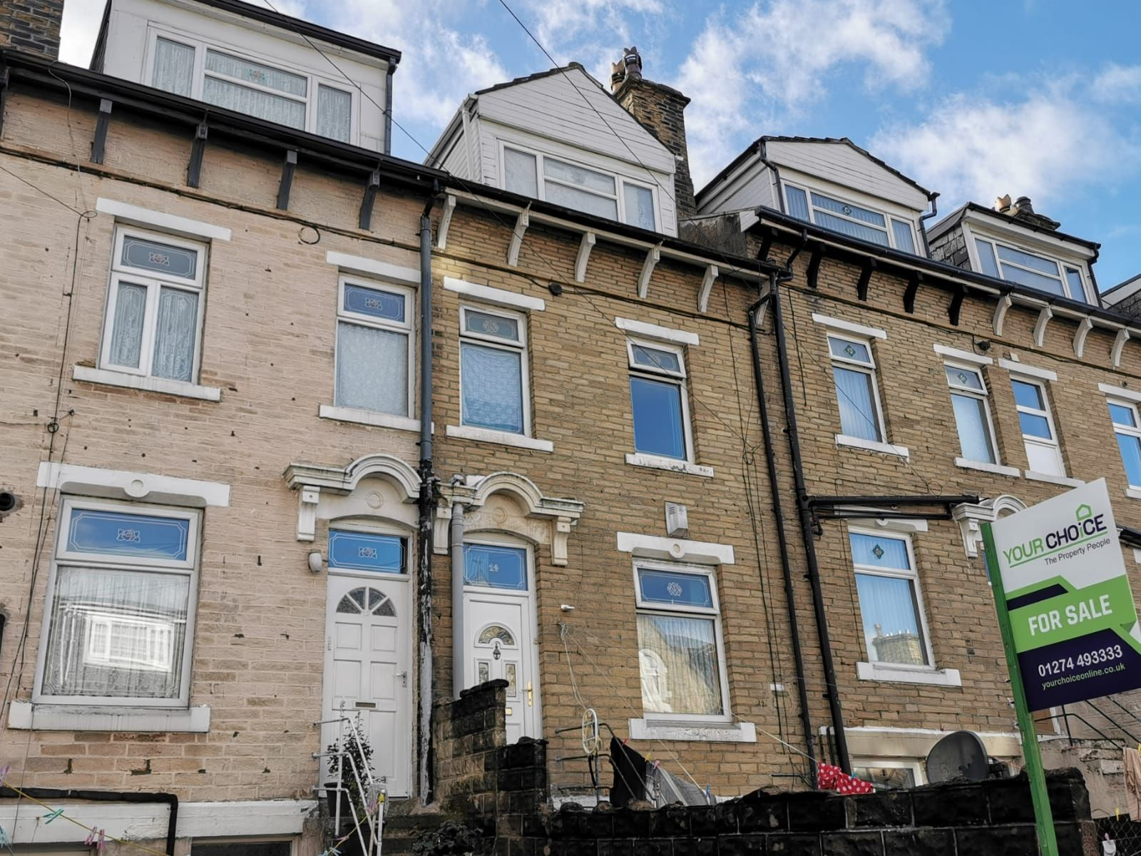 2 bedroom mid terraced house SSTC in Bradford - Photograph 1.
