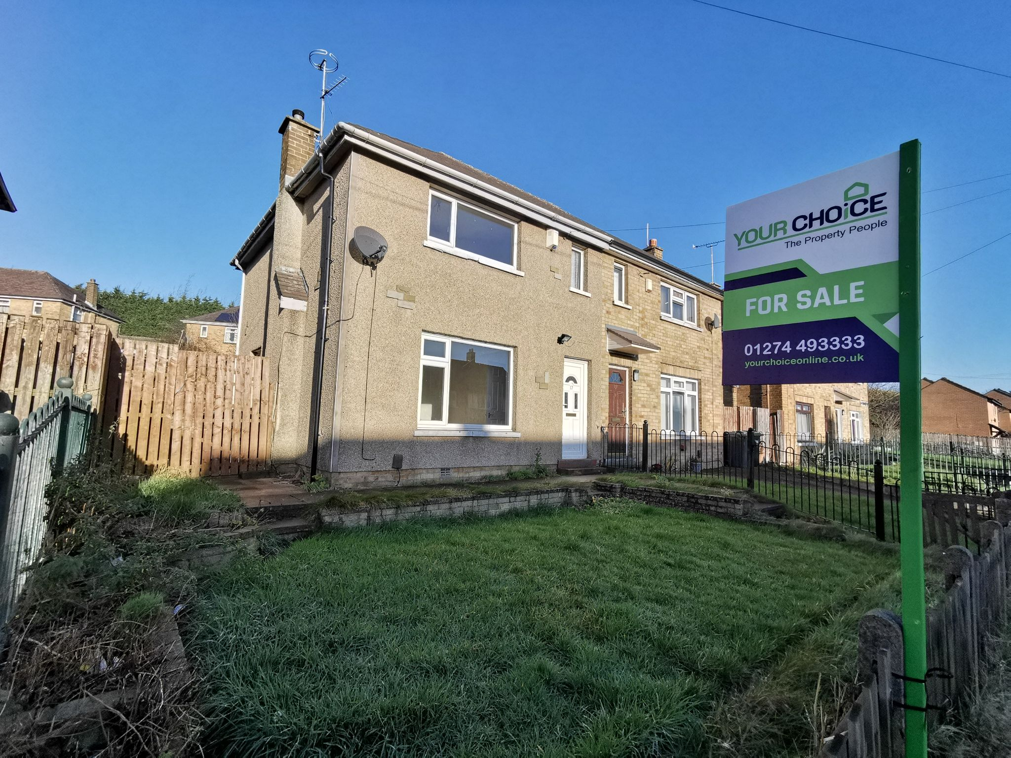 2 bedroom semi-detached house SSTC in Bradford - Photograph 1.