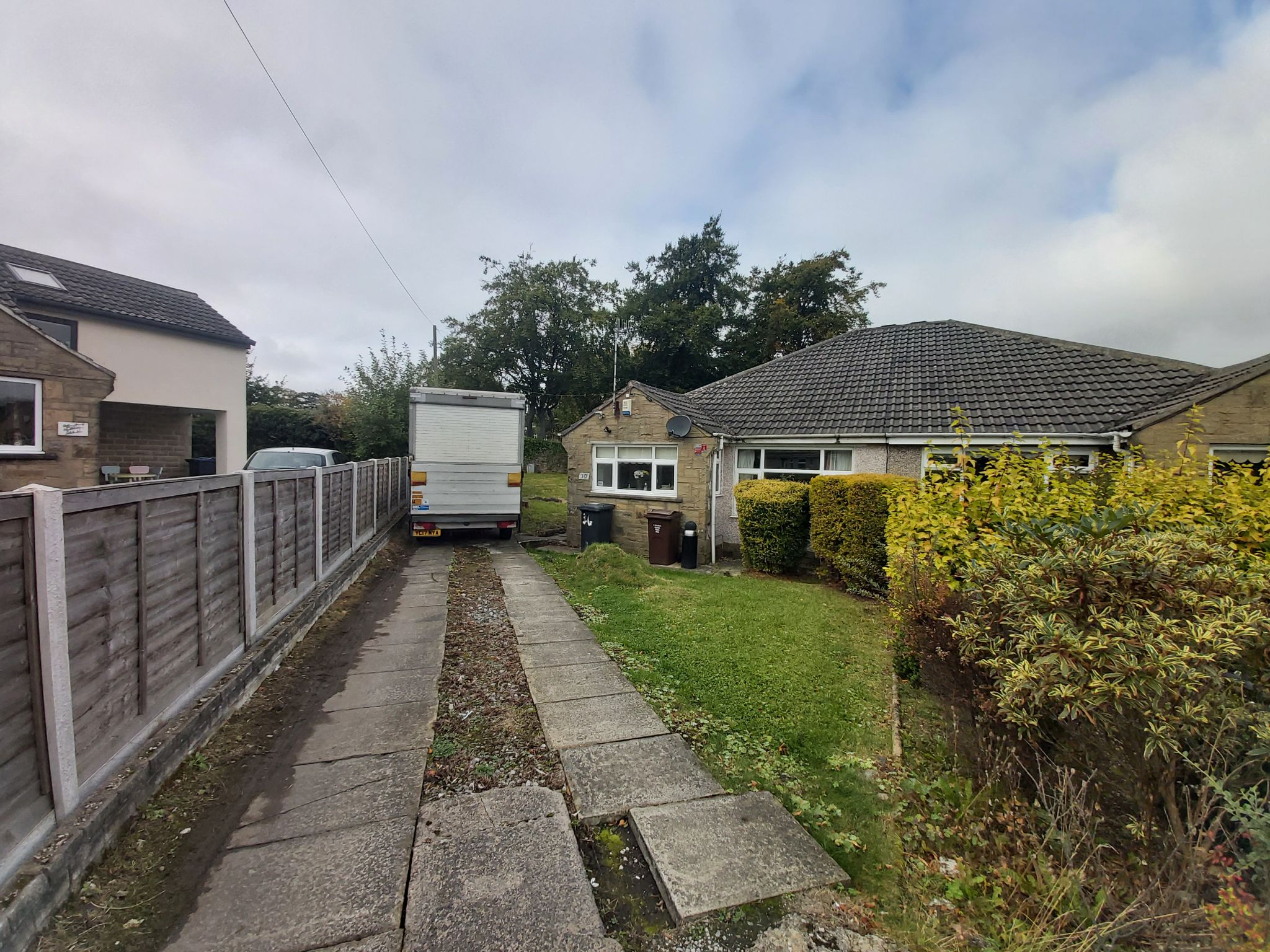 2 bedroom semi-detached bungalow For Sale in Bradford - Photograph 1.