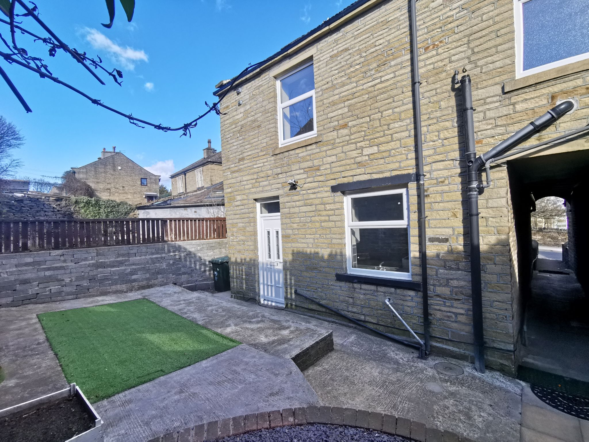 2 bedroom end terraced house SSTC in Bradford - Photograph 1.