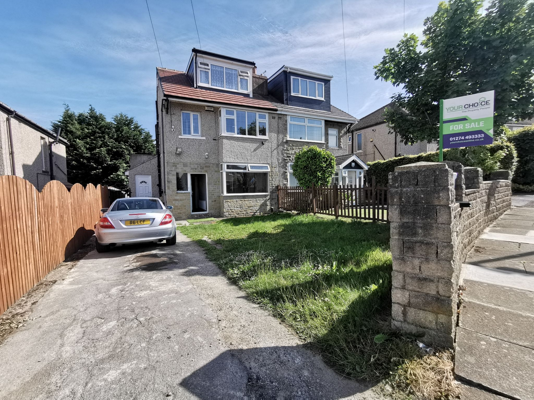 4 bedroom semi-detached house SSTC in Bradford - Photograph 1.