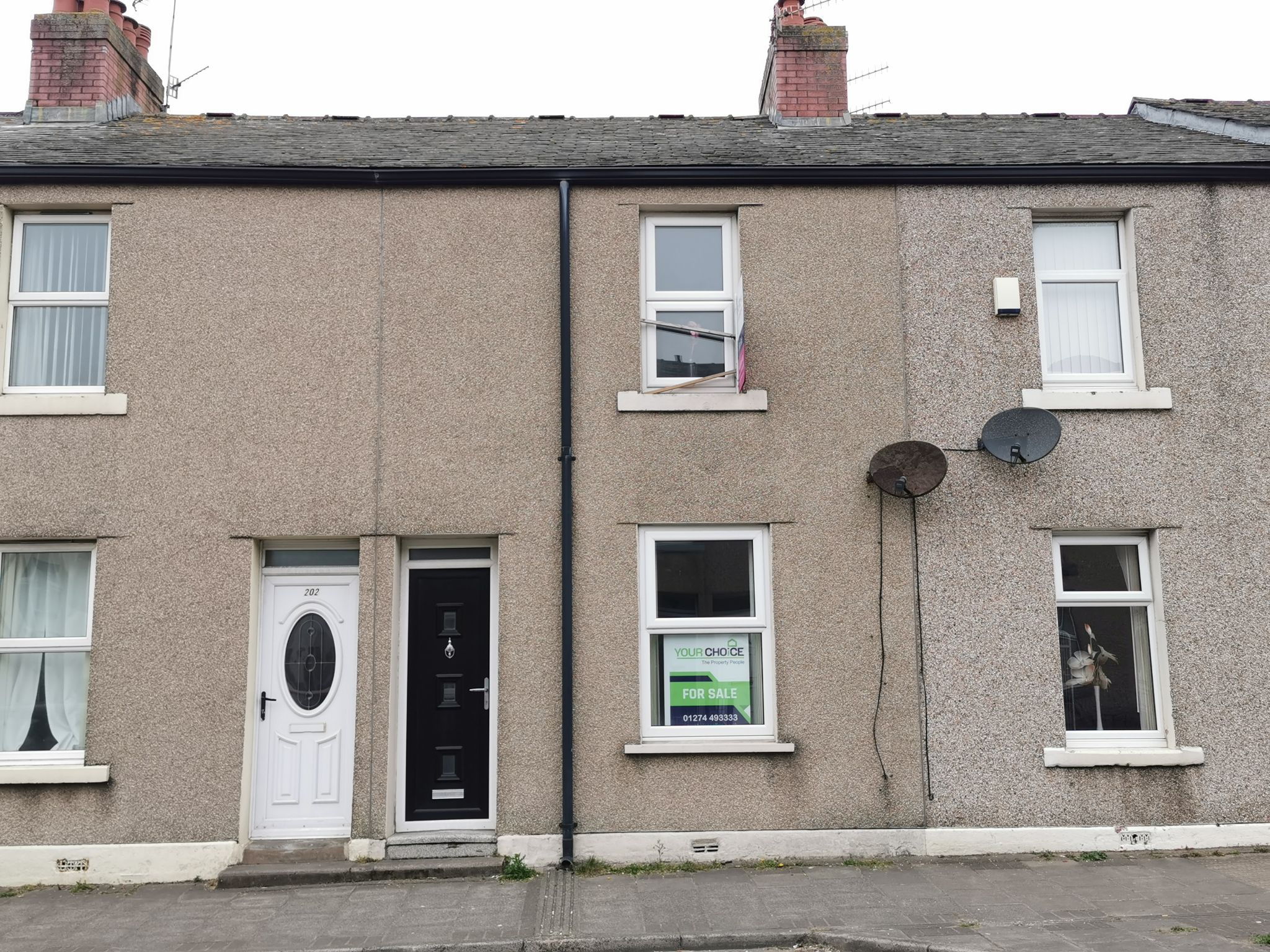 2 bedroom mid terraced house For Sale in Allerdale - Photograph 1.