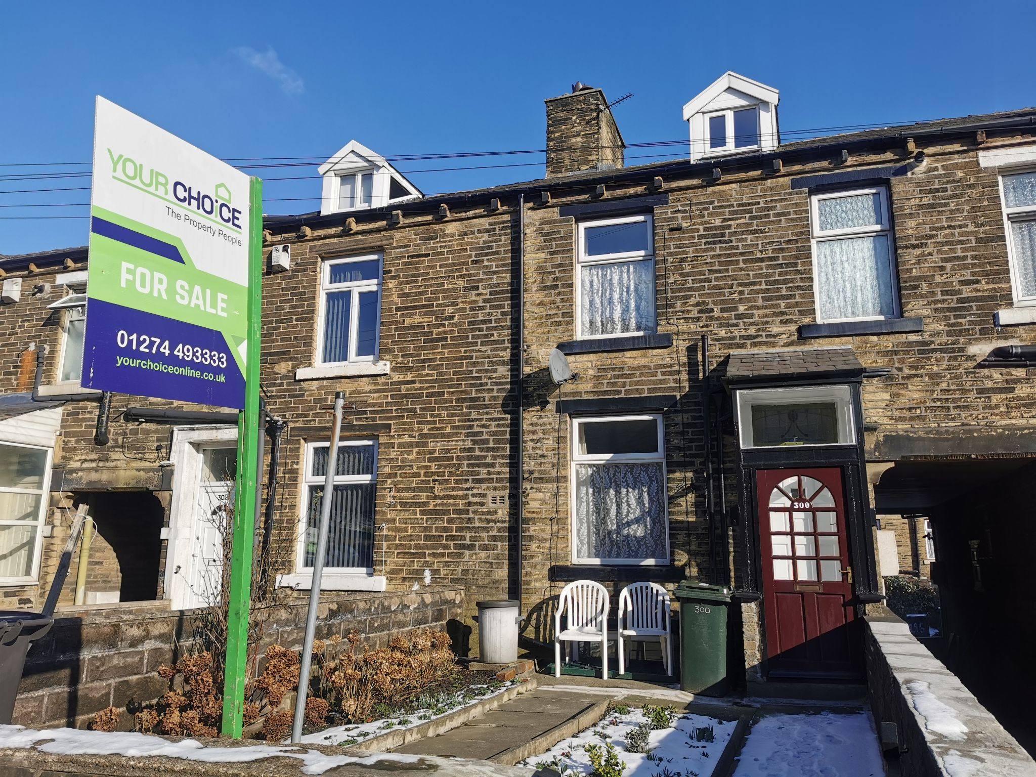2 bedroom mid terraced house To Let in Bradford - Photograph 1.