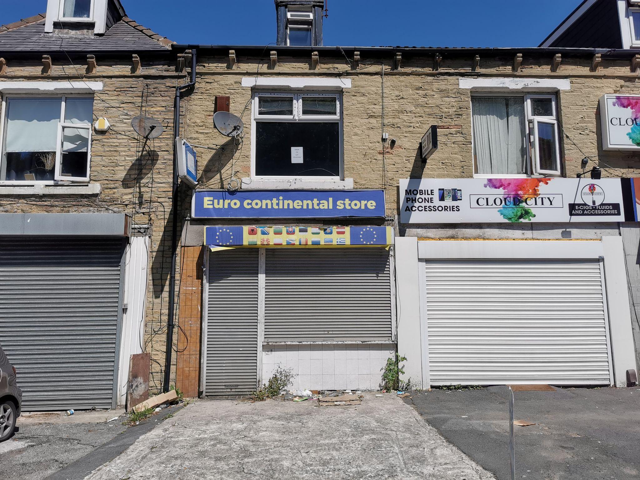 Empty Retail Premises For Sale in Bradford - Photograph 1.