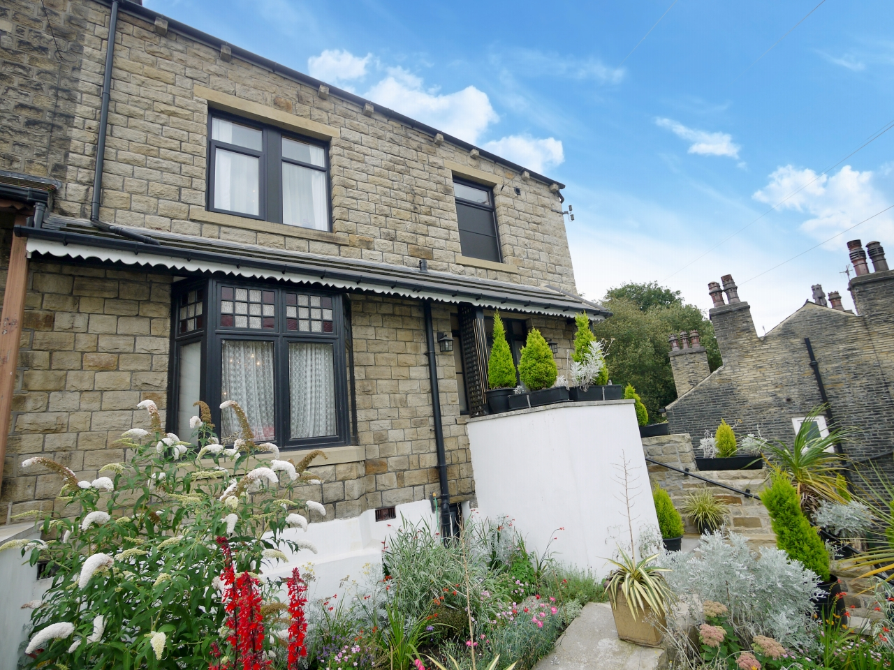 3 bedroom end terraced house SSTC in Halifax - Photograph 1.