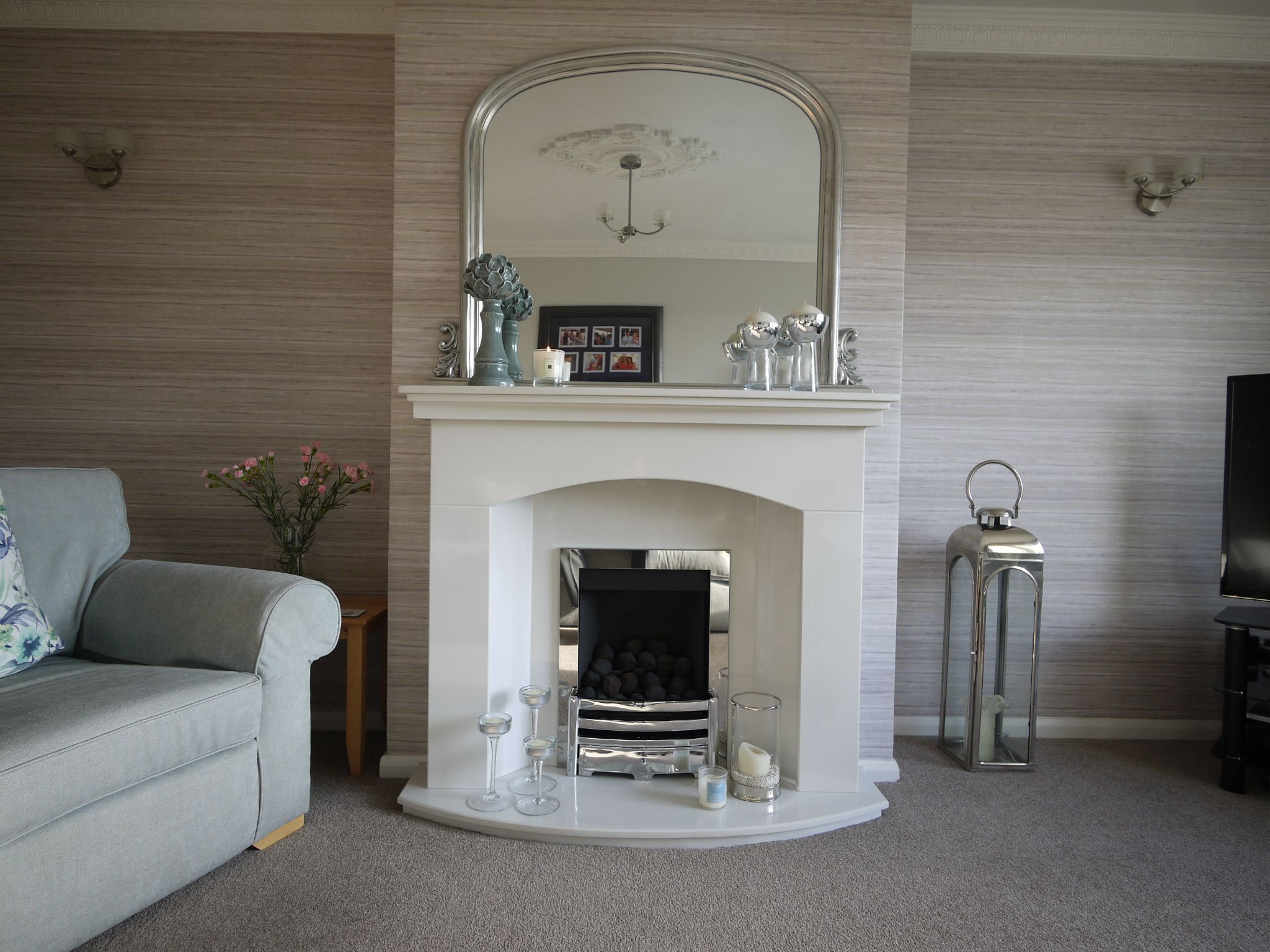 3 bedroom semi-detached house SSTC in Halifax - fireplace.