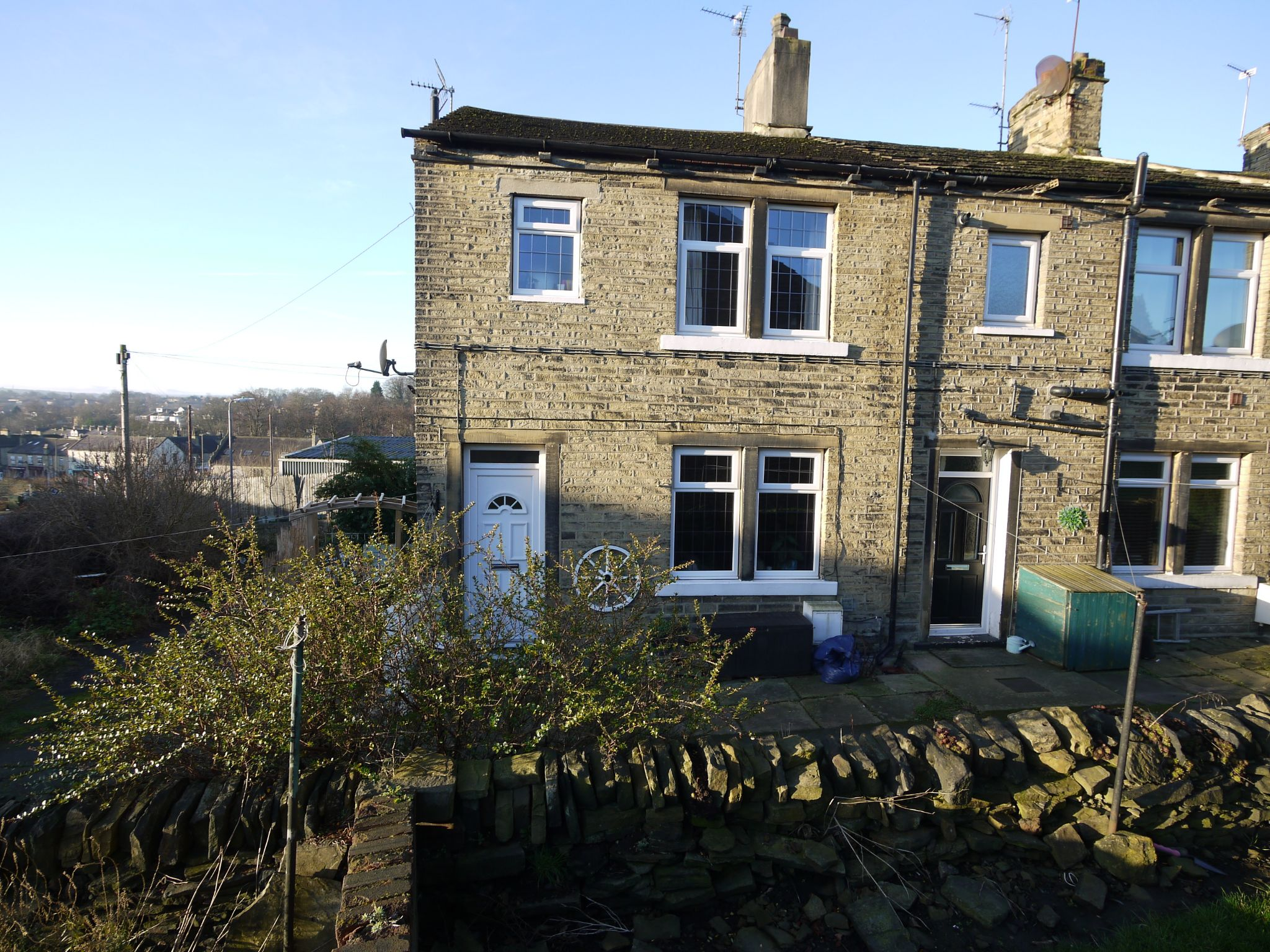 1 bedroom end terraced house SSTC in Brighouse - main shot.