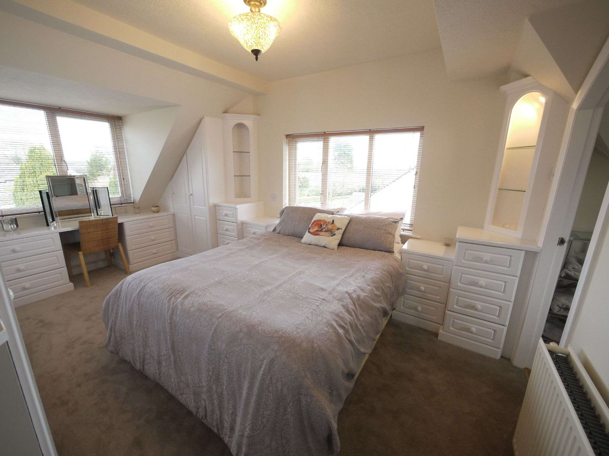 5 bedroom detached bungalow For Sale in Brighouse - master bed2.