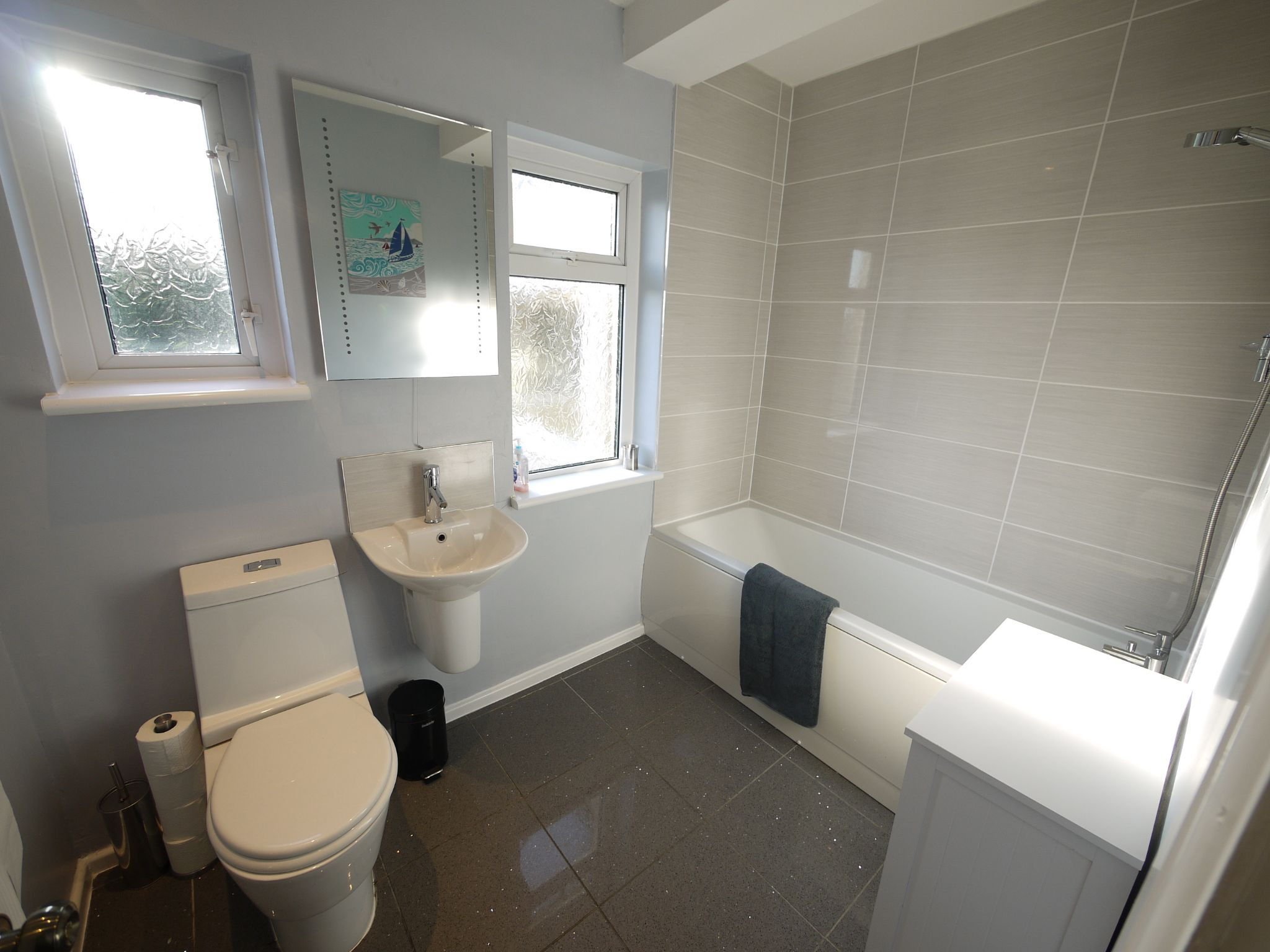 5 bedroom detached bungalow For Sale in Brighouse - ground flr bathroom.