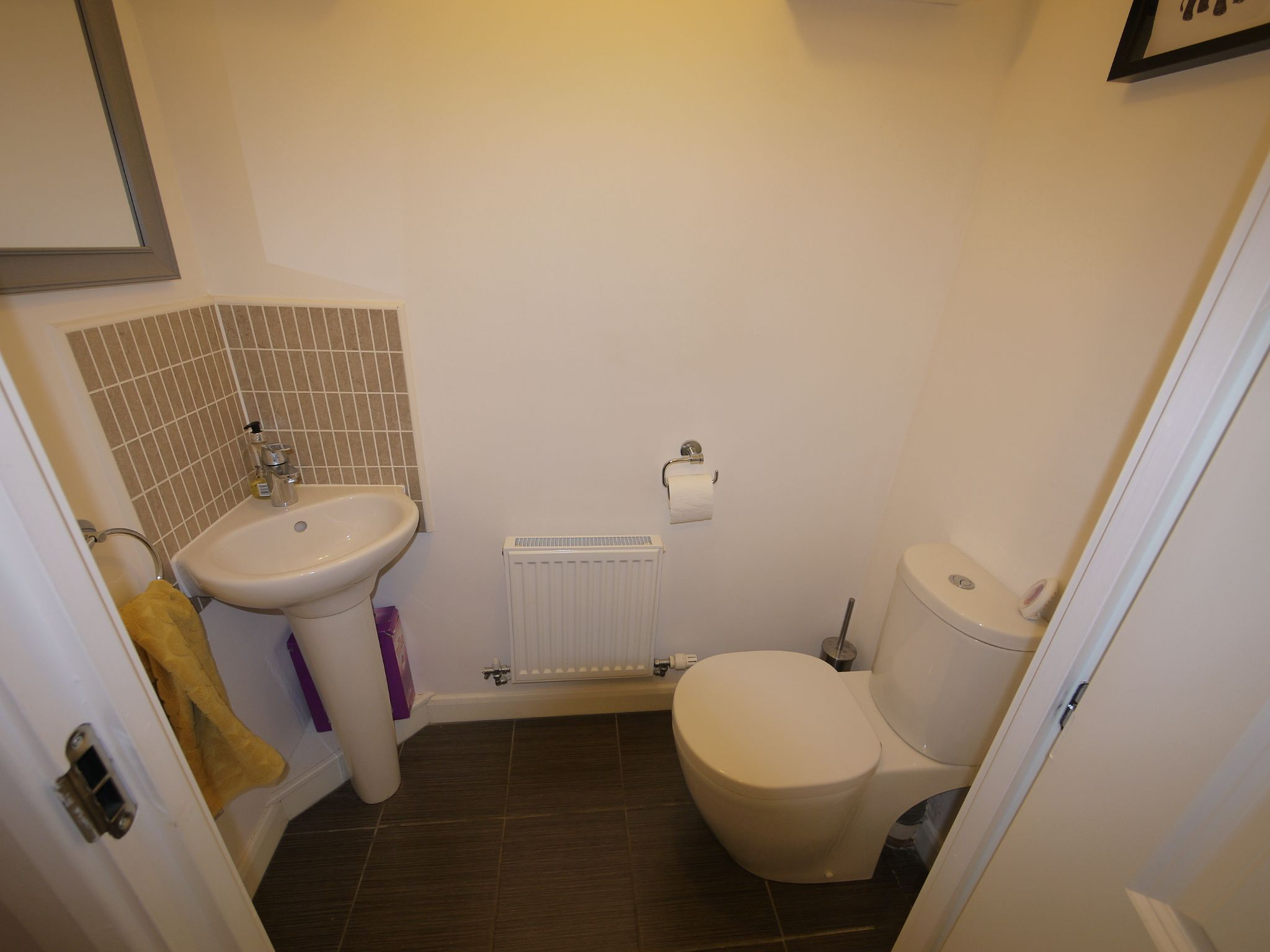 3 bedroom end terraced house SSTC in Cleckheaton - Cloakroom.