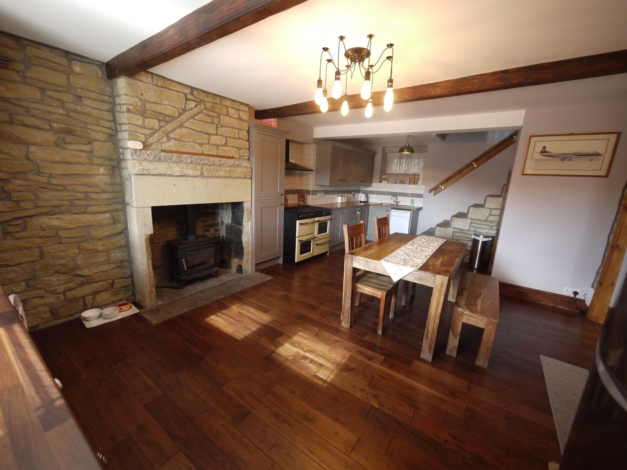 3 bedroom cottage house For Sale in Halifax - Dining Kitchen.