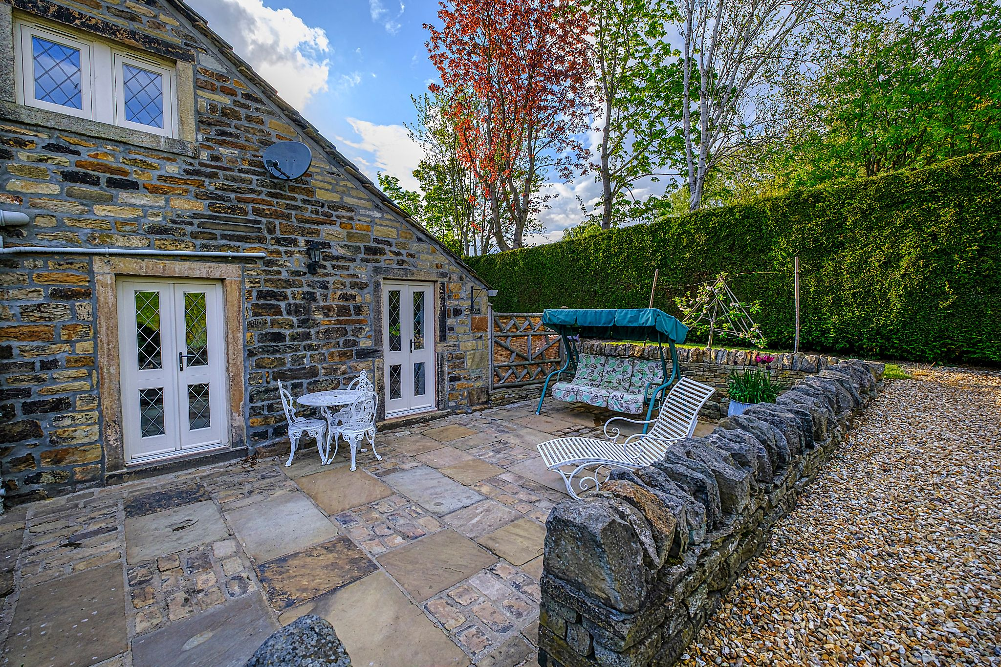 Farm House For Sale in Halifax - Side gdn 1.