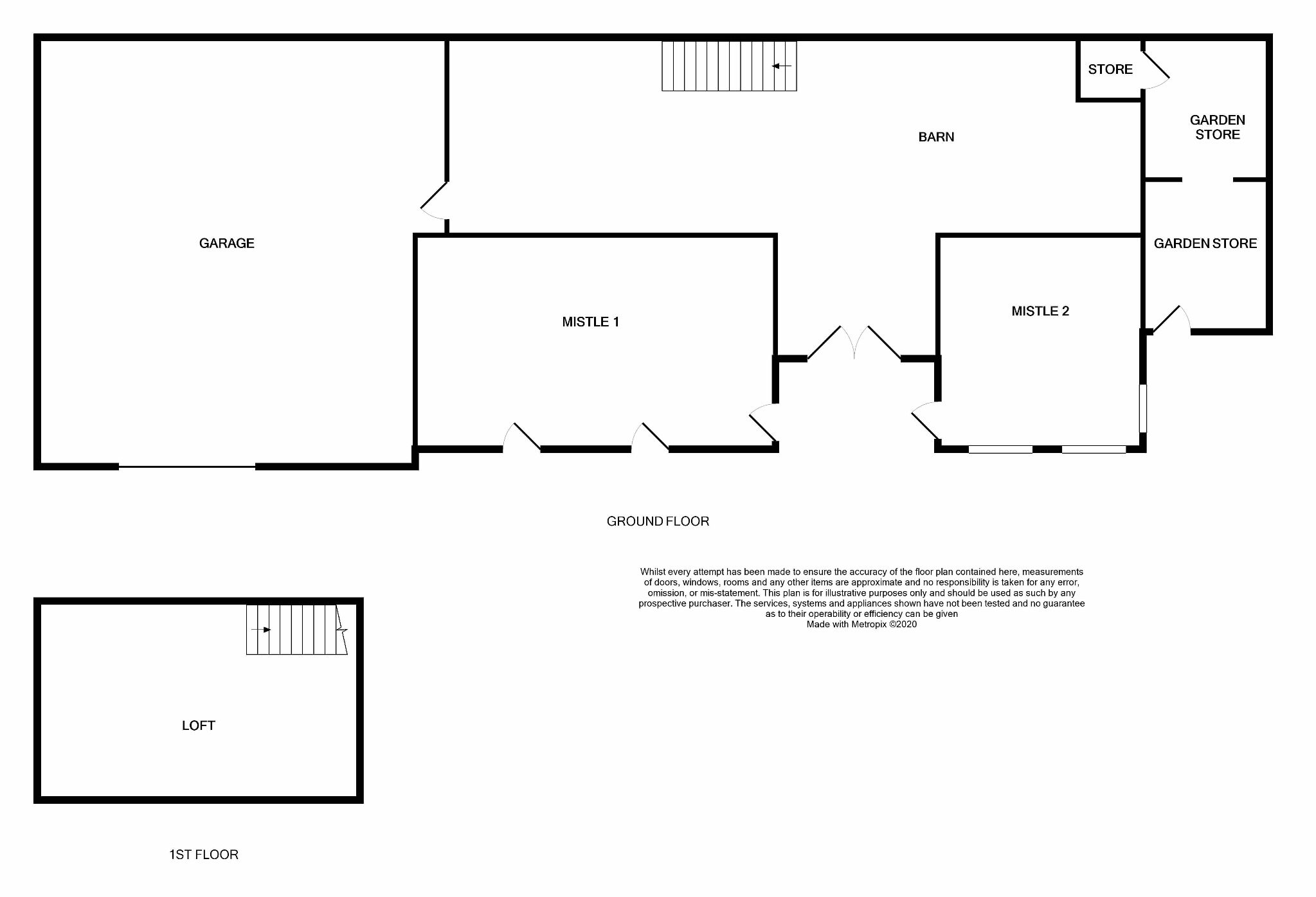 Farm House For Sale in Halifax - Floorplan 2.
