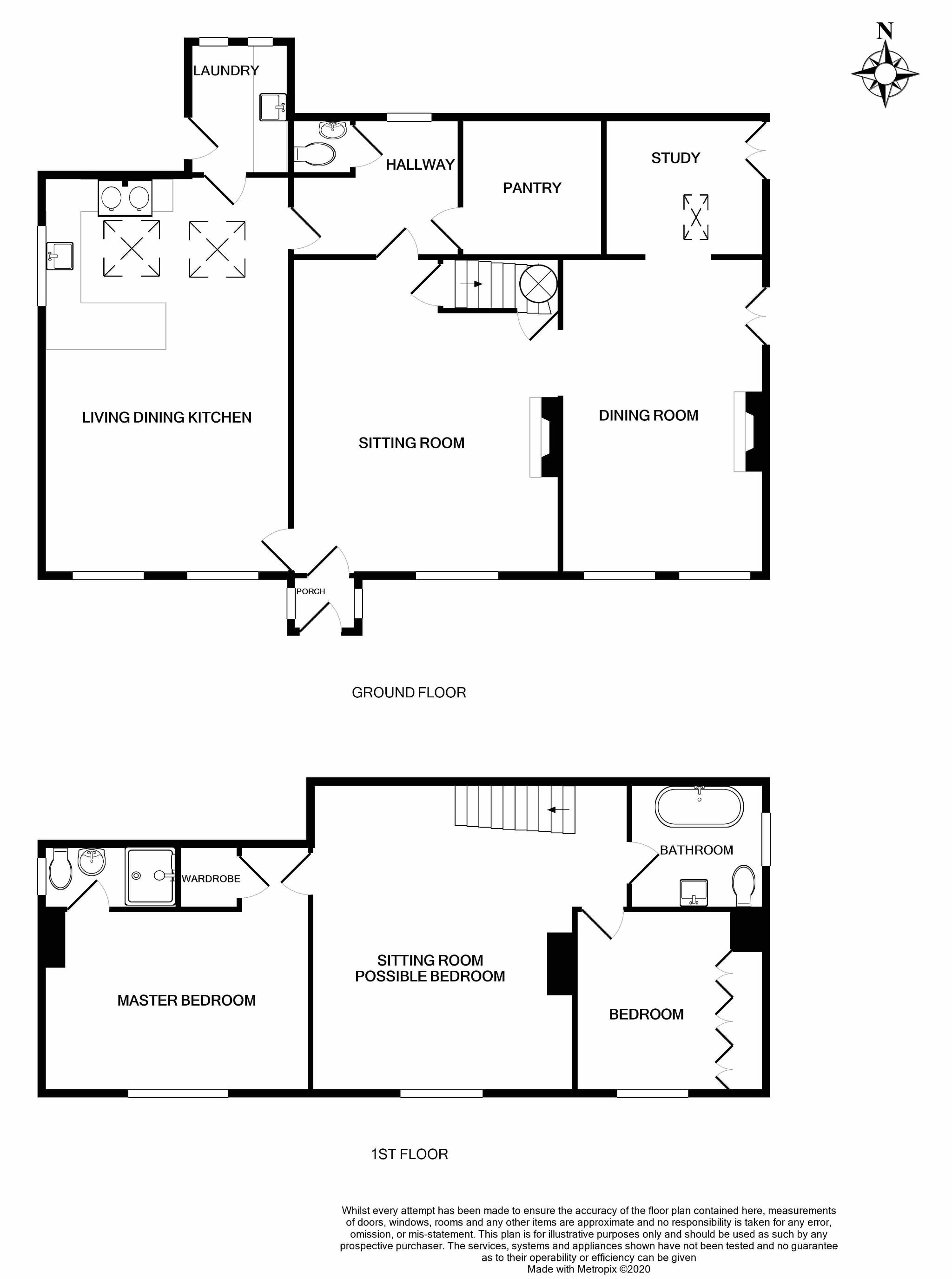 Farm House For Sale in Halifax - Floorplan 1.