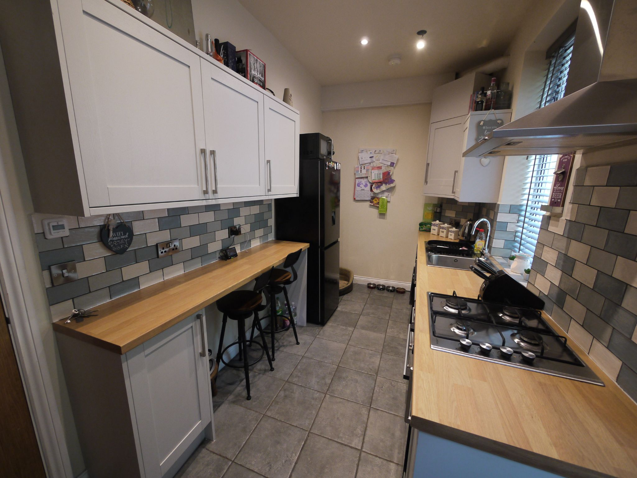 2 bedroom mid terraced house SSTC in Brighouse - Kitchen 1.