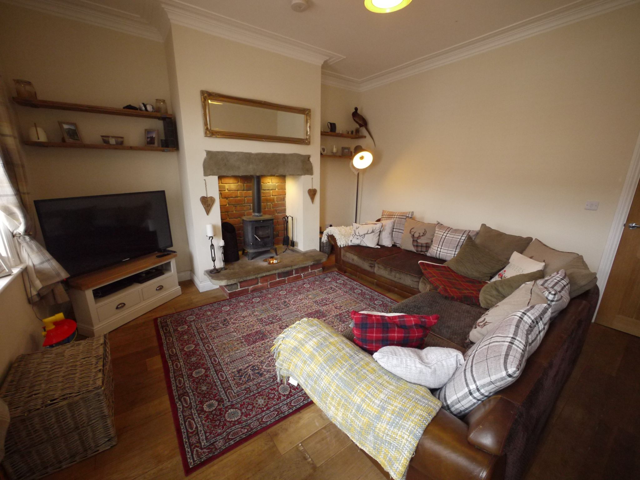 2 bedroom mid terraced house SSTC in Brighouse - Lounge 1.