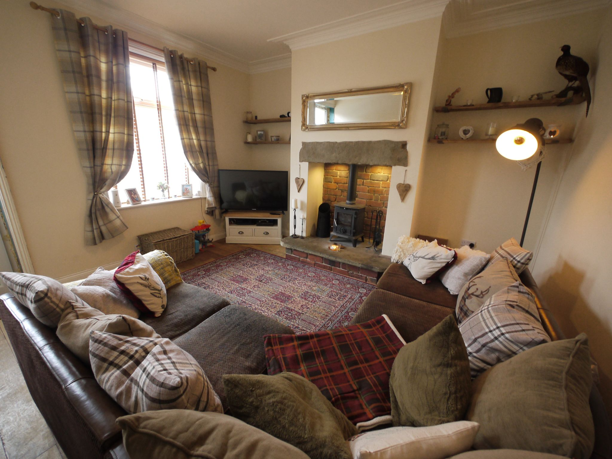 2 bedroom mid terraced house SSTC in Brighouse - Lounge 2.