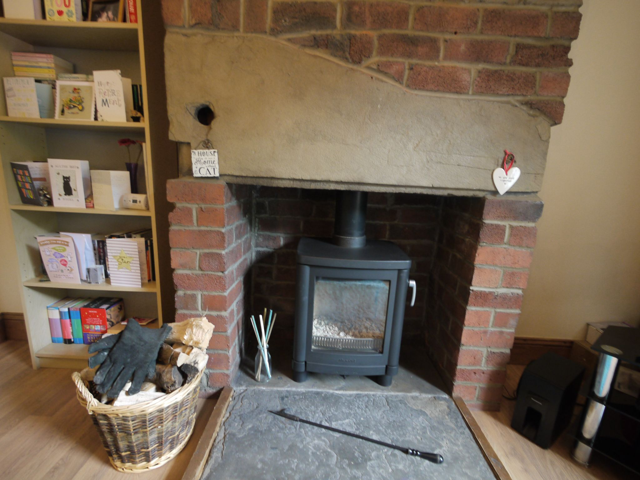 2 bedroom end terraced house SSTC in Brighouse - Fireplace.