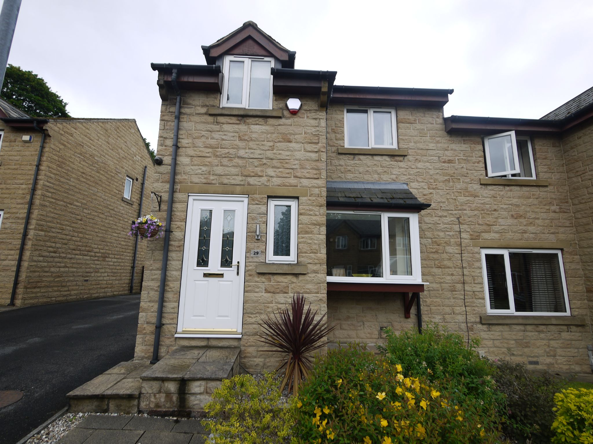 3 bedroom semi-detached house For Sale in Brighouse - External photograph.