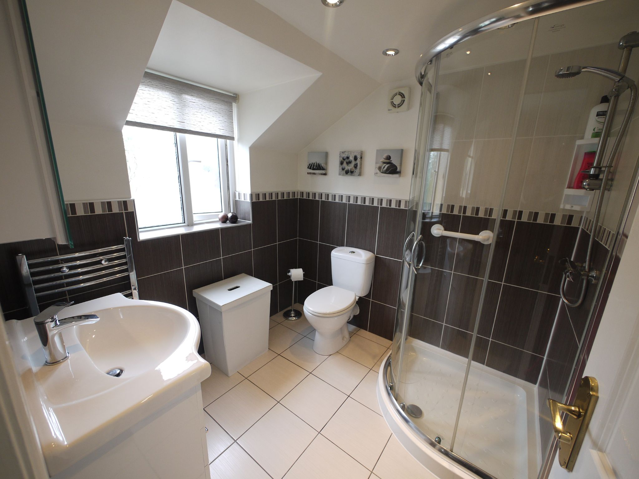 3 bedroom semi-detached house SSTC in Brighouse - Ensuite Shower Room.