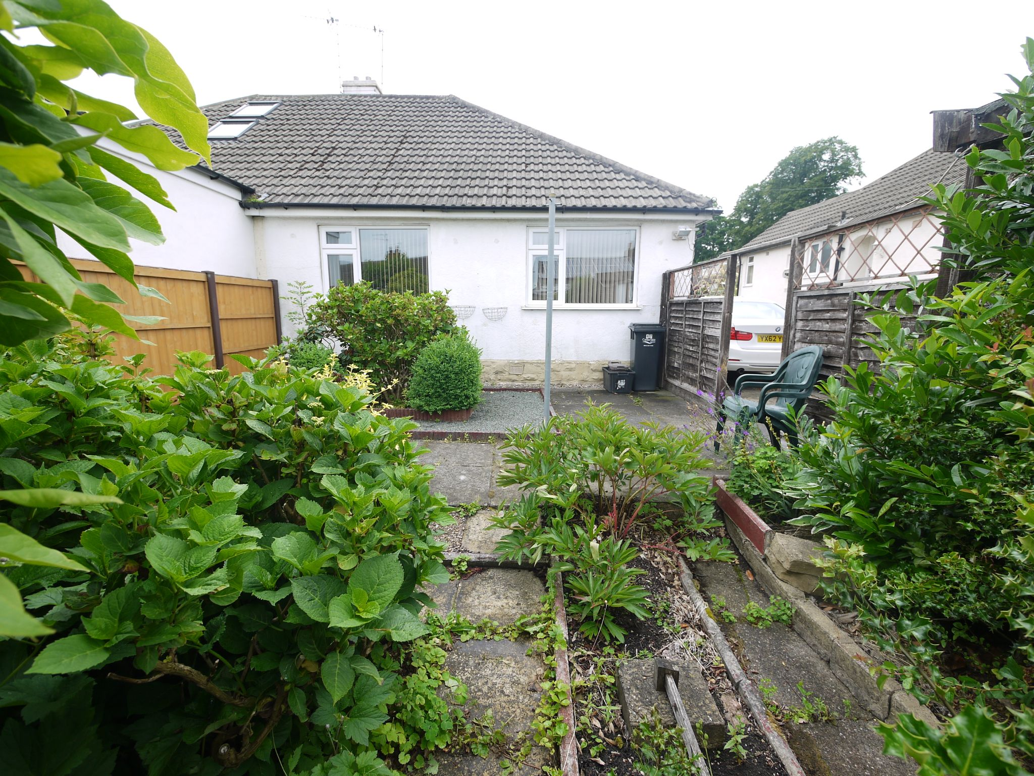 2 bedroom semi-detached bungalow SSTC in Brighouse - Rear.