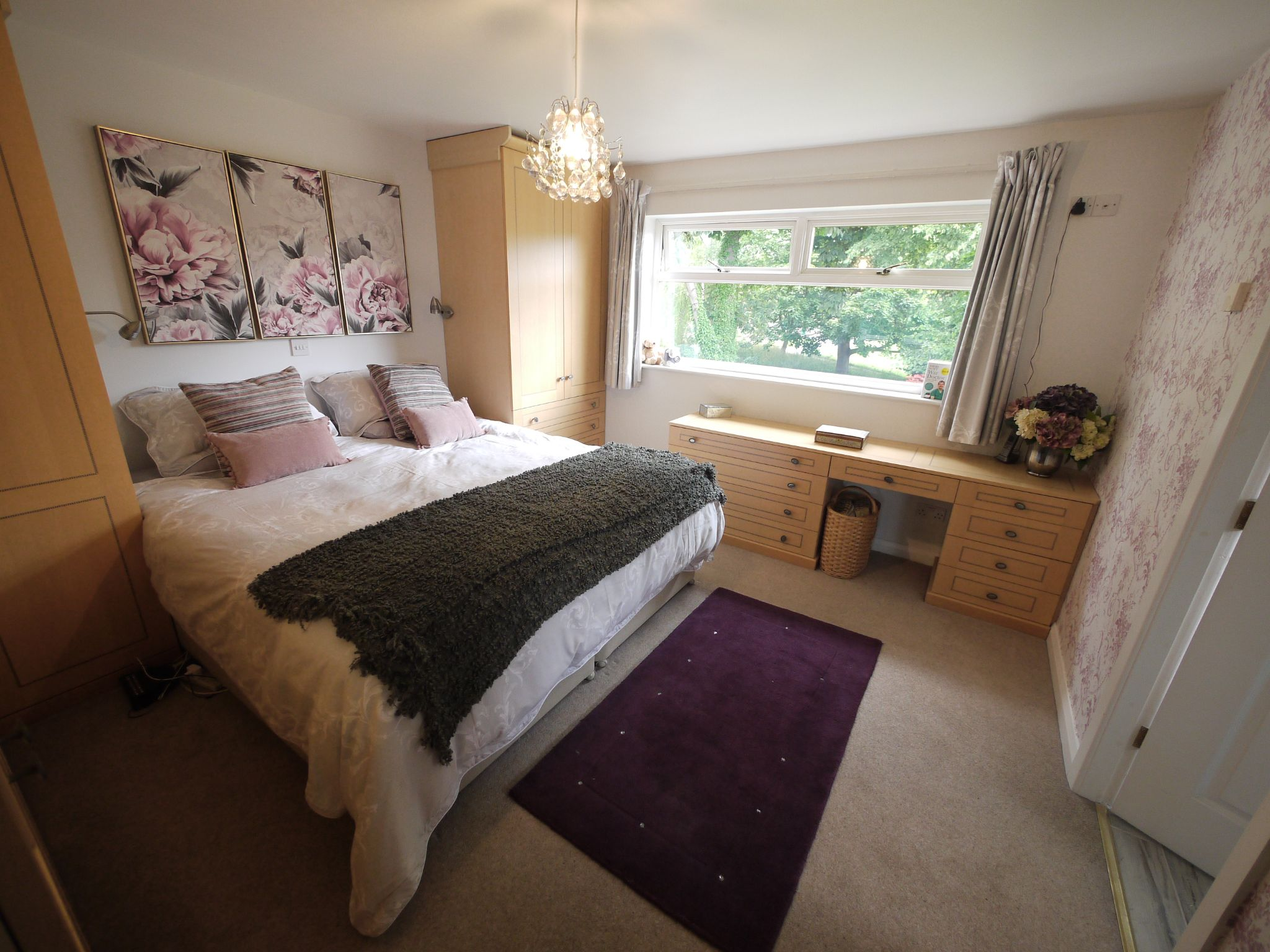 4 bedroom detached house For Sale in Brighouse - Master bed 2.