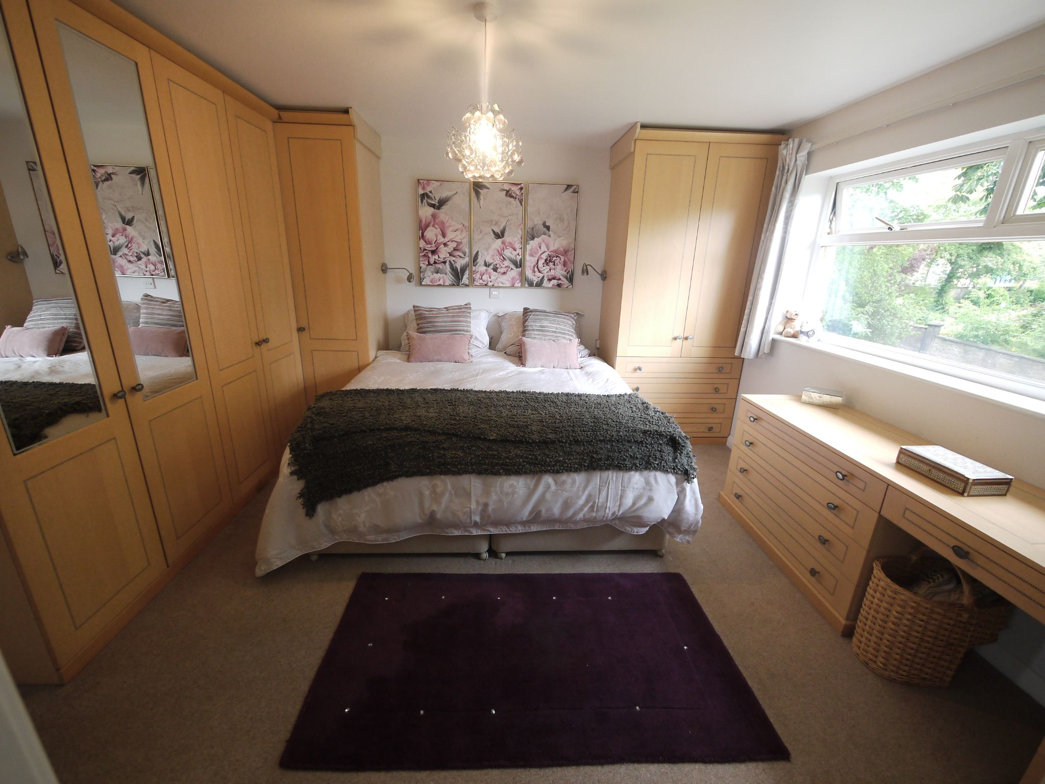 4 bedroom detached house For Sale in Brighouse - Master Bedroom.