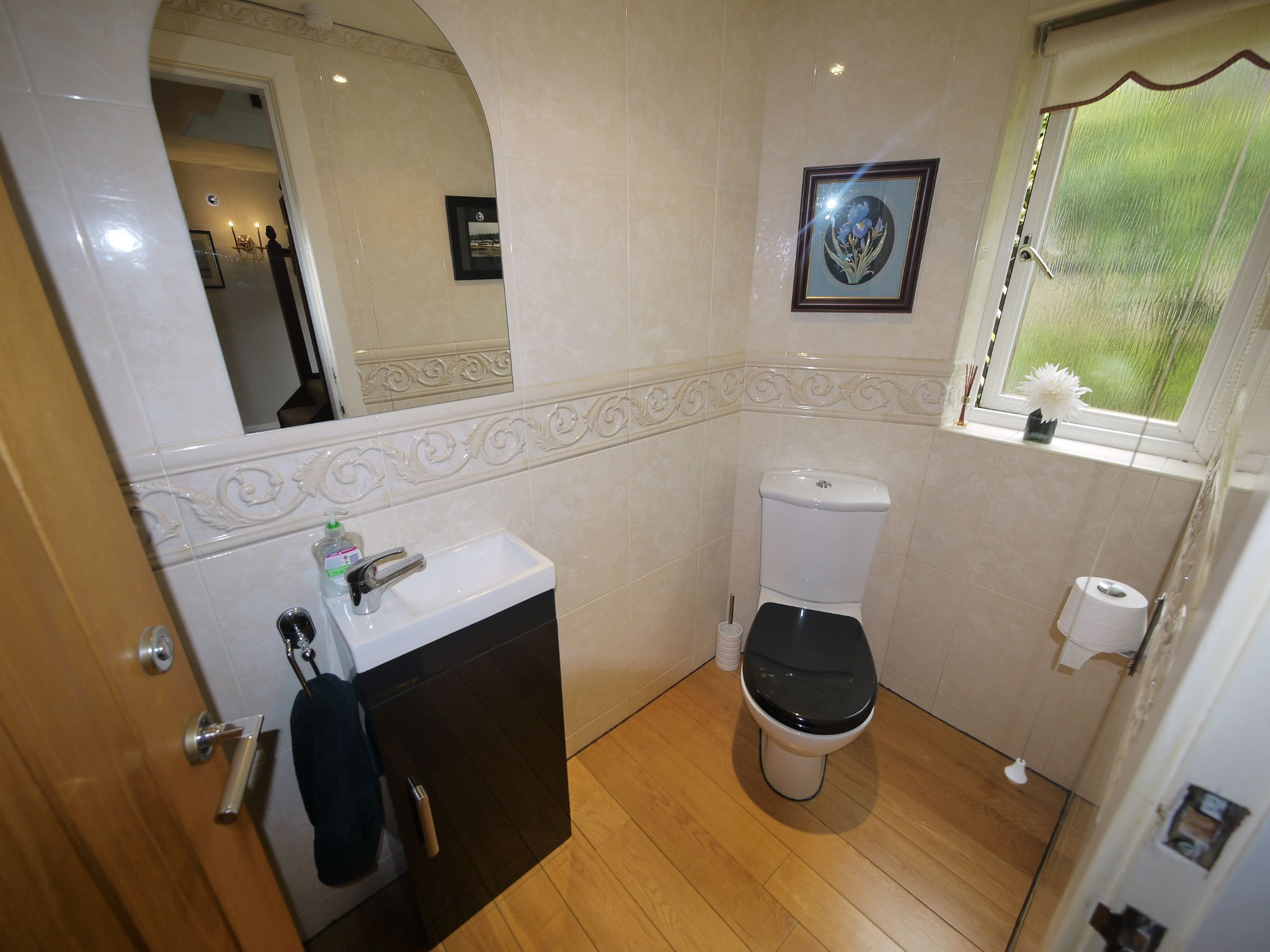 4 bedroom detached house For Sale in Brighouse - Cloakroom.