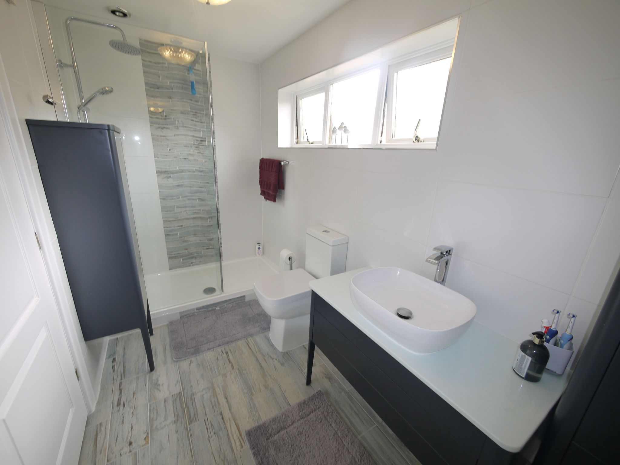4 bedroom detached house For Sale in Brighouse - Ensuite shower room.