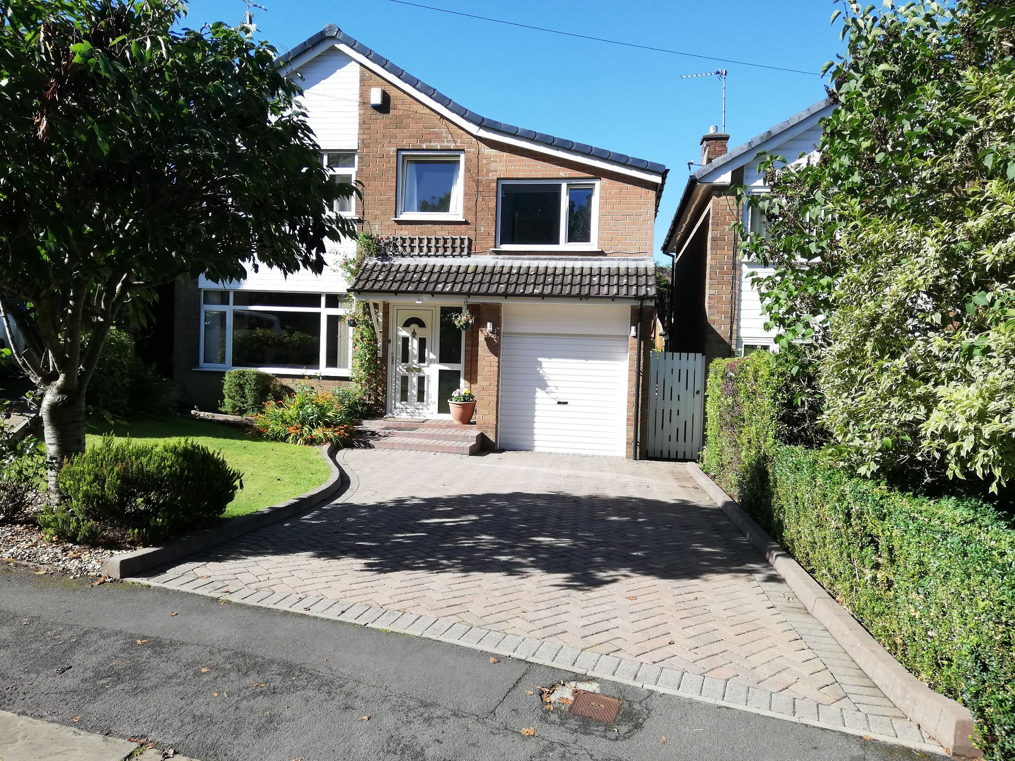 5 bedroom detached house For Sale in Brighouse - Main blue sky.