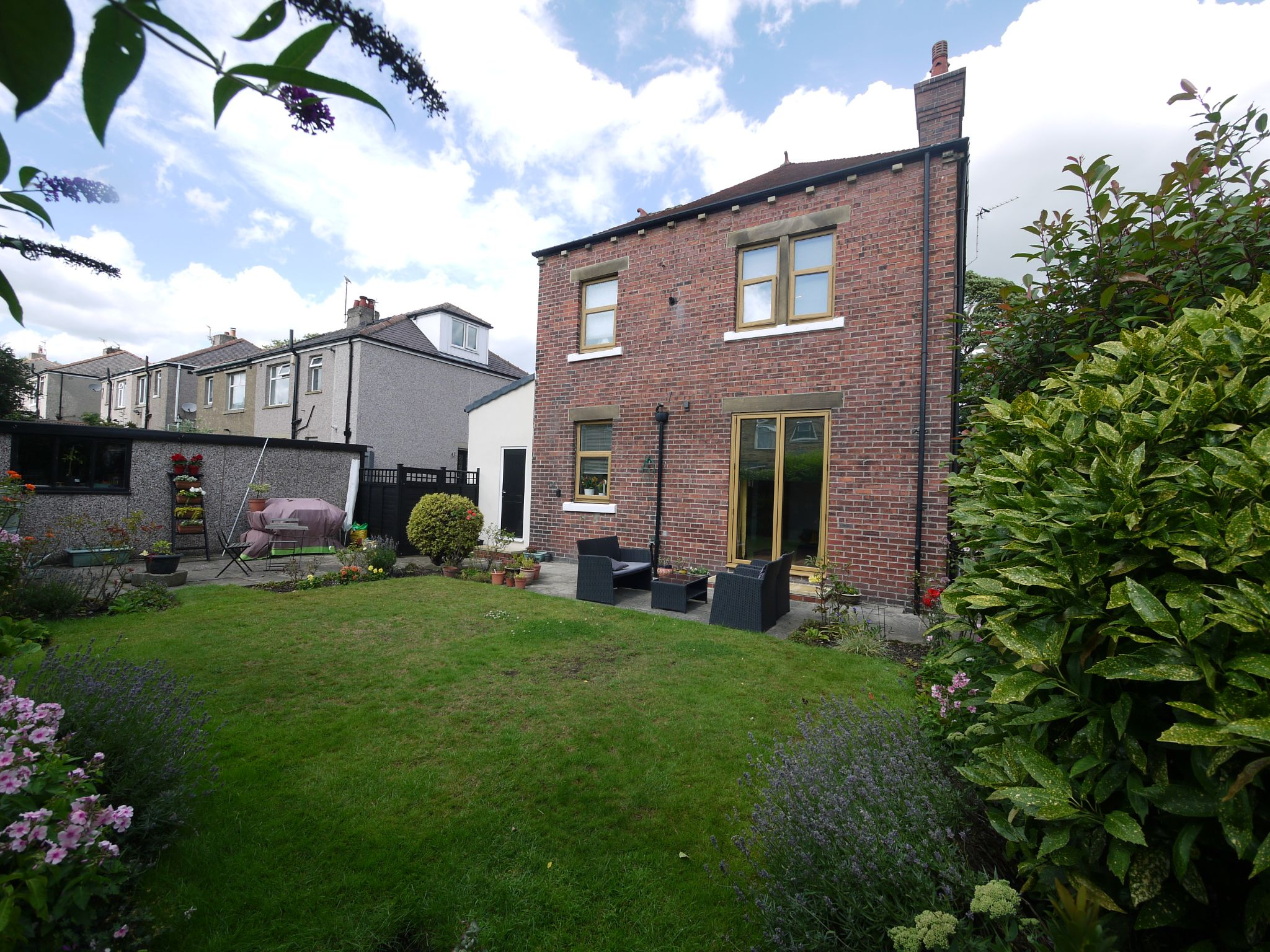 4 bedroom detached house For Sale in Halifax - Rear 2.