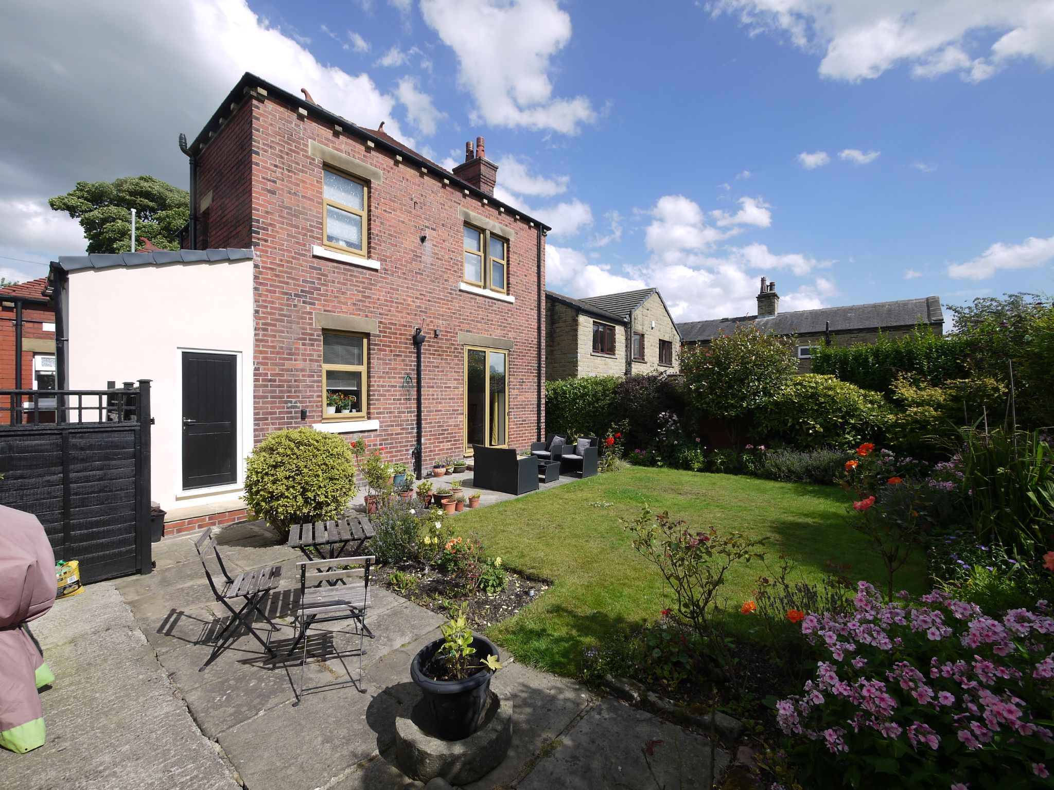 4 bedroom detached house For Sale in Halifax - Rear.