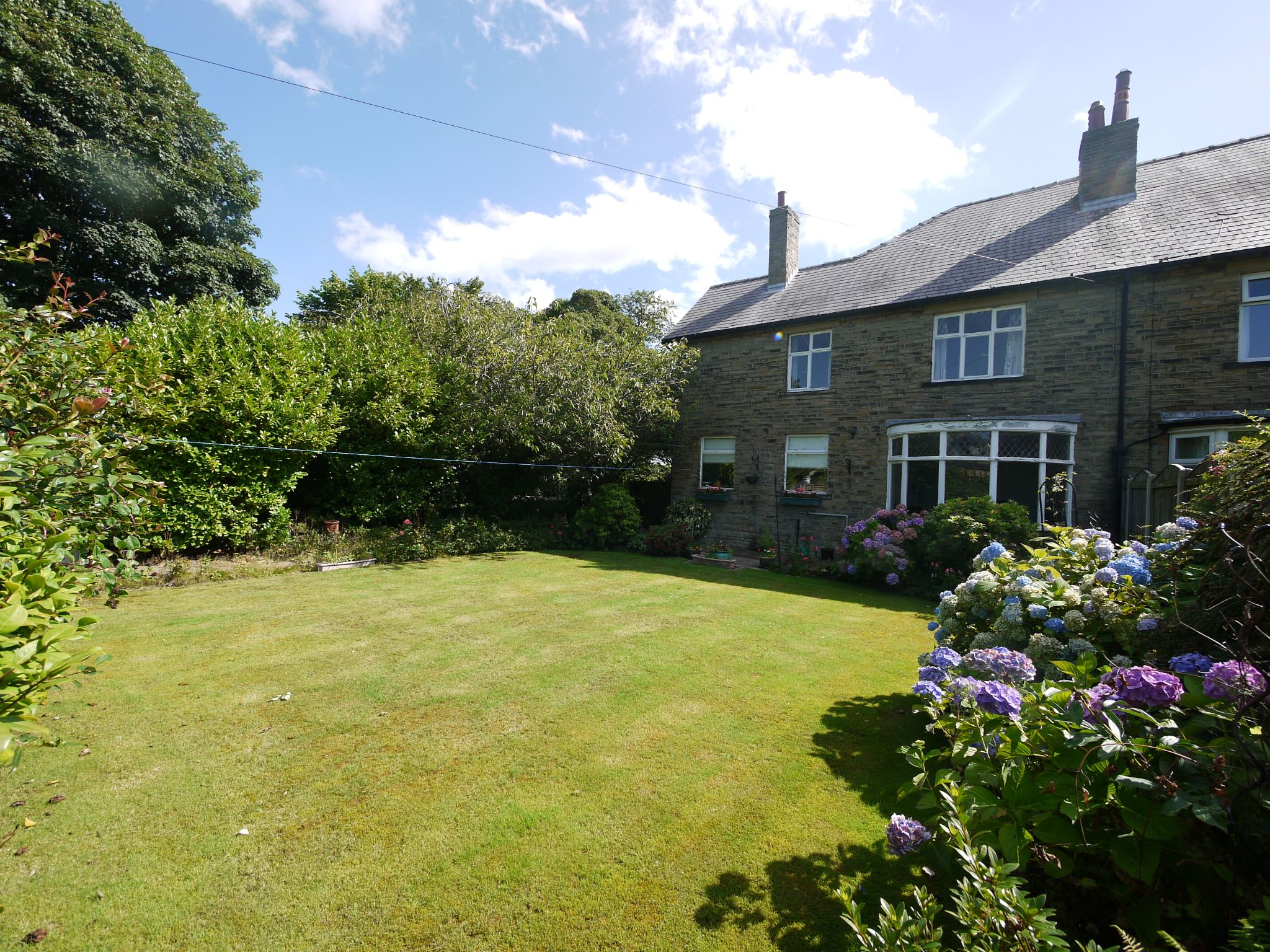 4 bedroom semi-detached house SSTC in Brighouse - Rear.