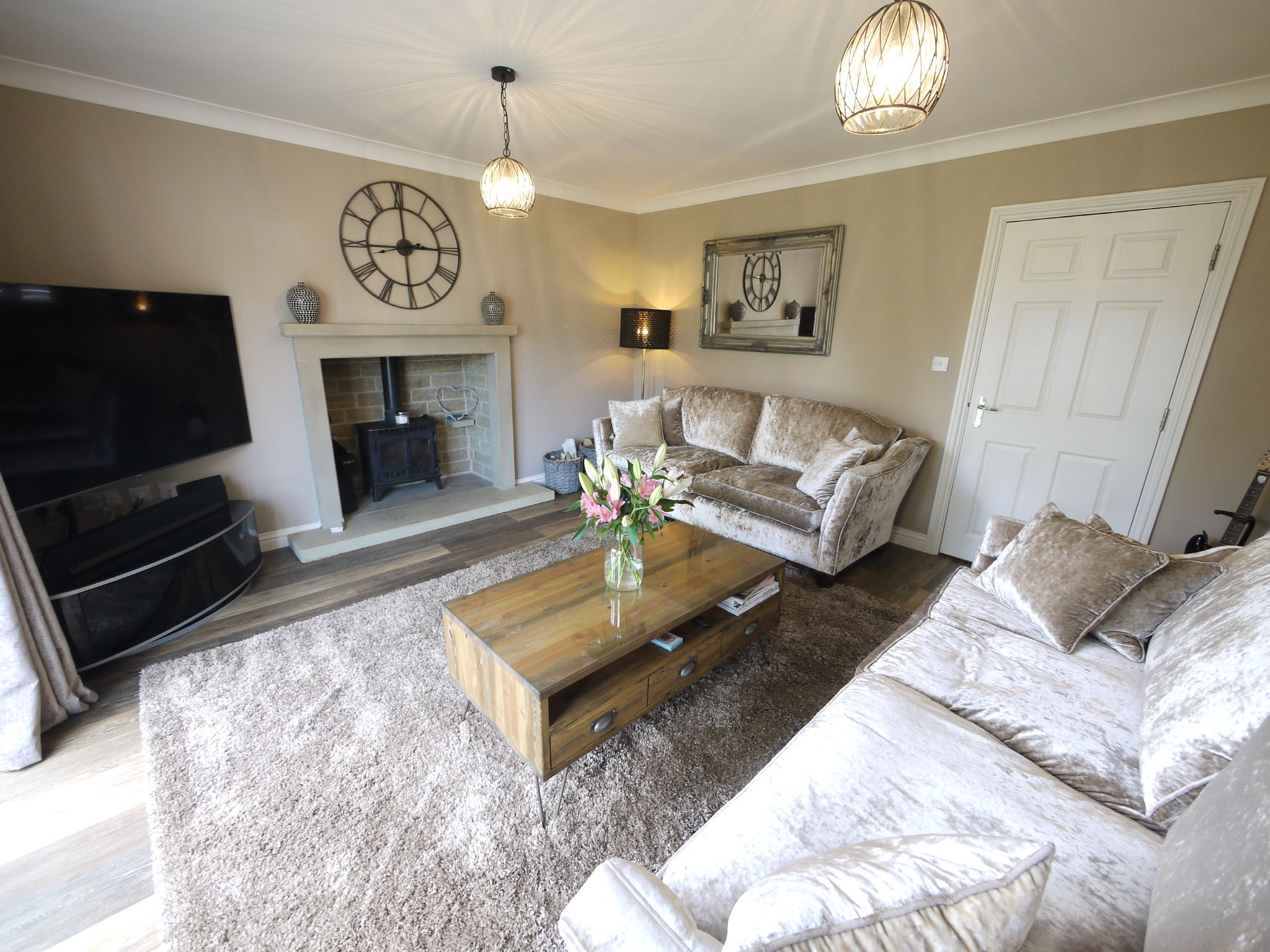 4 bedroom detached house SSTC in Halifax - Lounge.