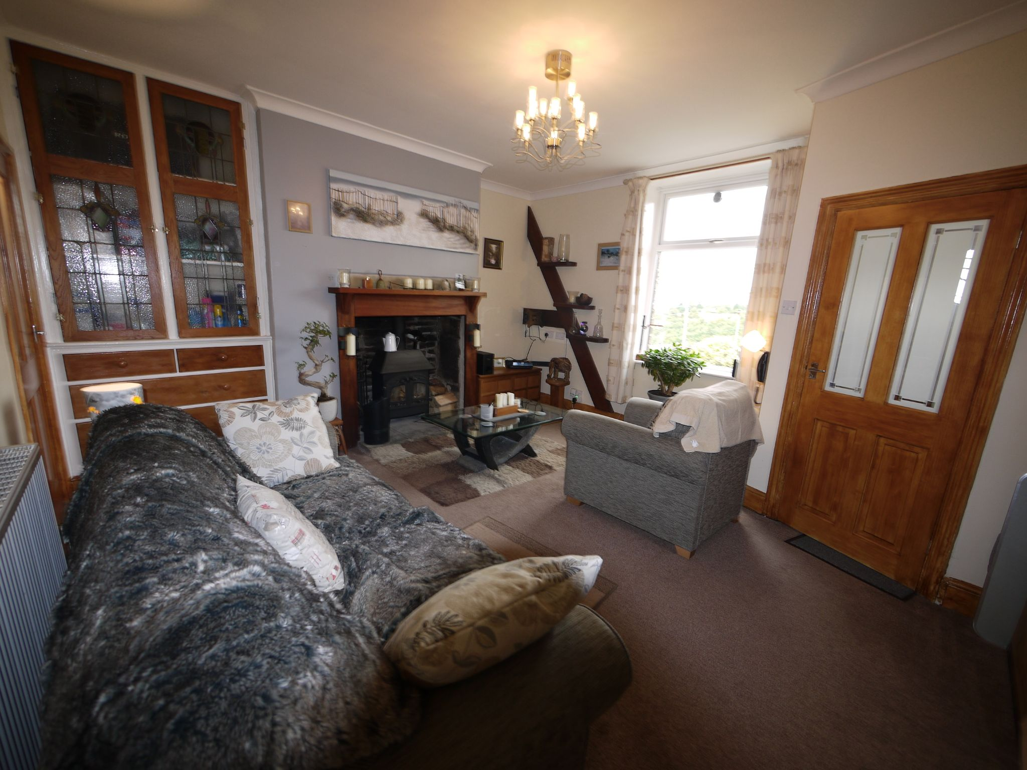 1 bedroom mid terraced house For Sale in Elland - Lounge.