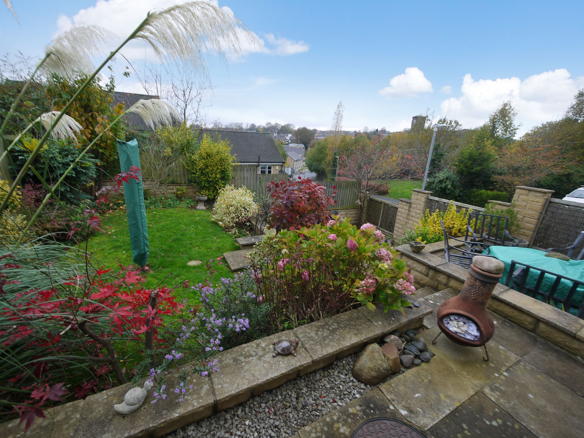4 bedroom detached house SSTC in Brighouse - Rear gdn2.
