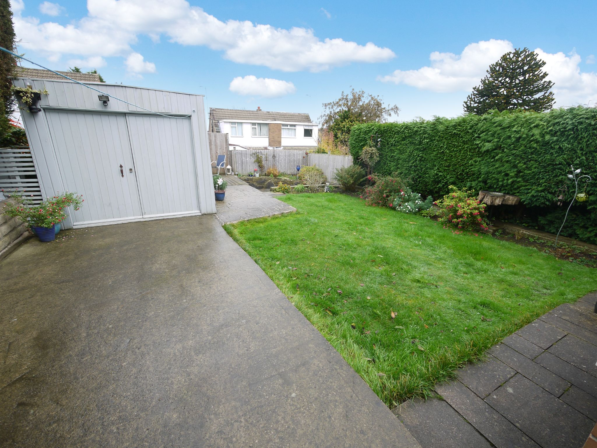 3 bedroom semi-detached house SSTC in Brighouse - Rear Garden.