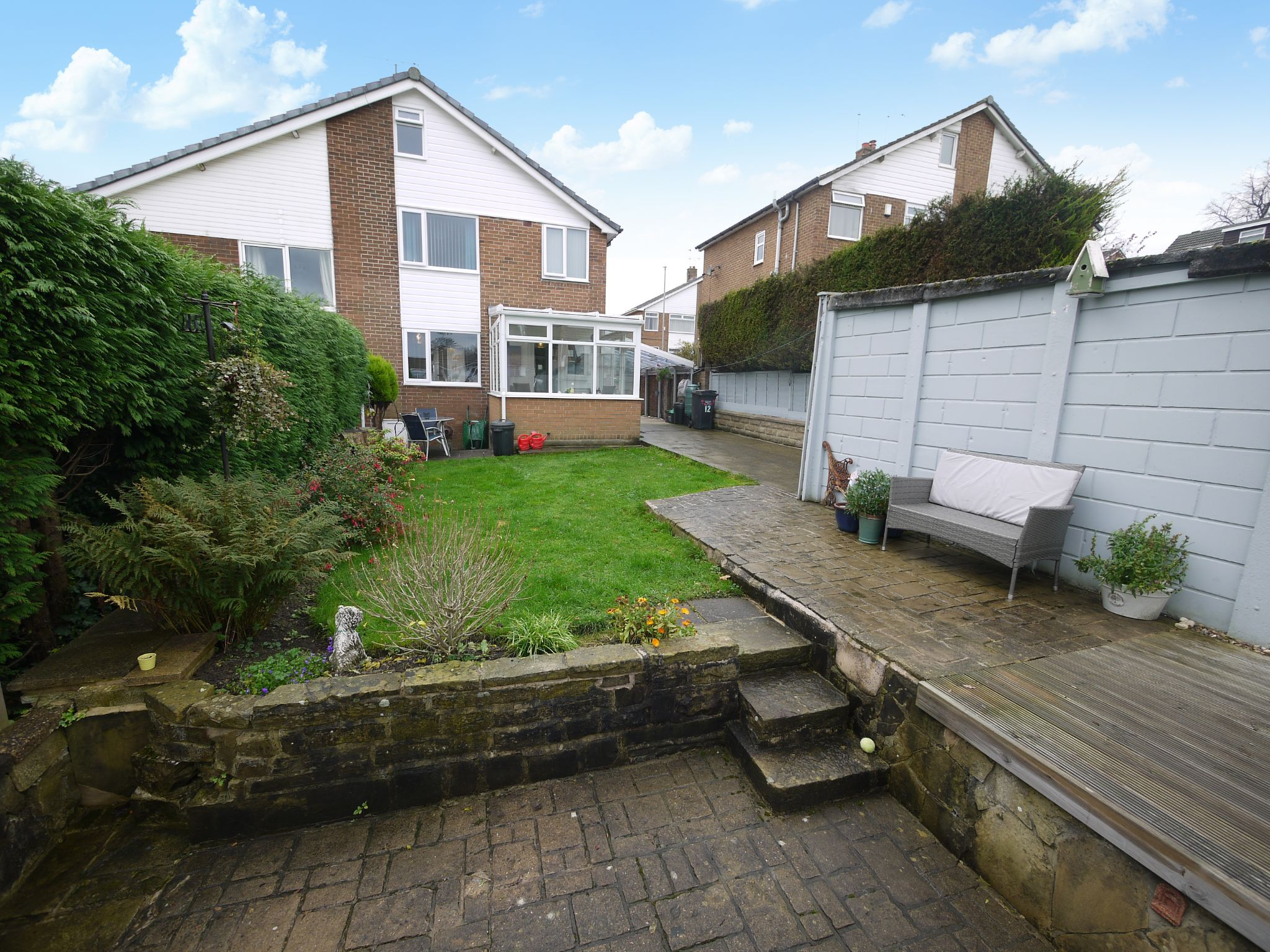 3 bedroom semi-detached house SSTC in Brighouse - Rear 2.