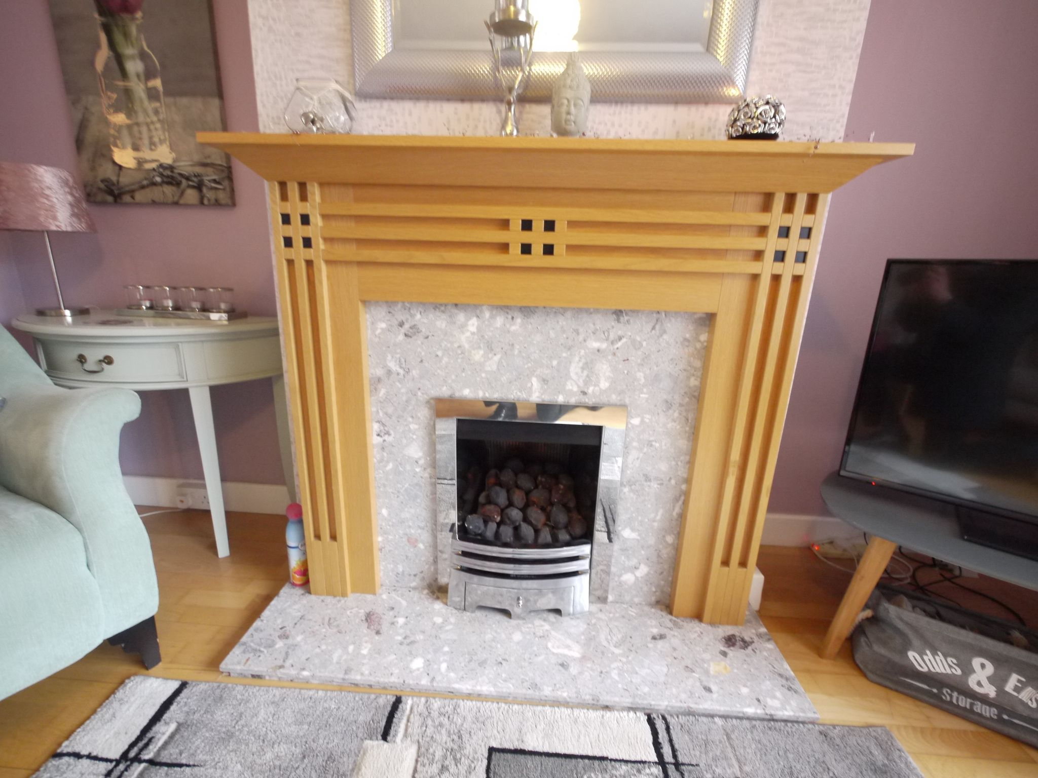 3 bedroom semi-detached house SSTC in Brighouse - Fireplace.