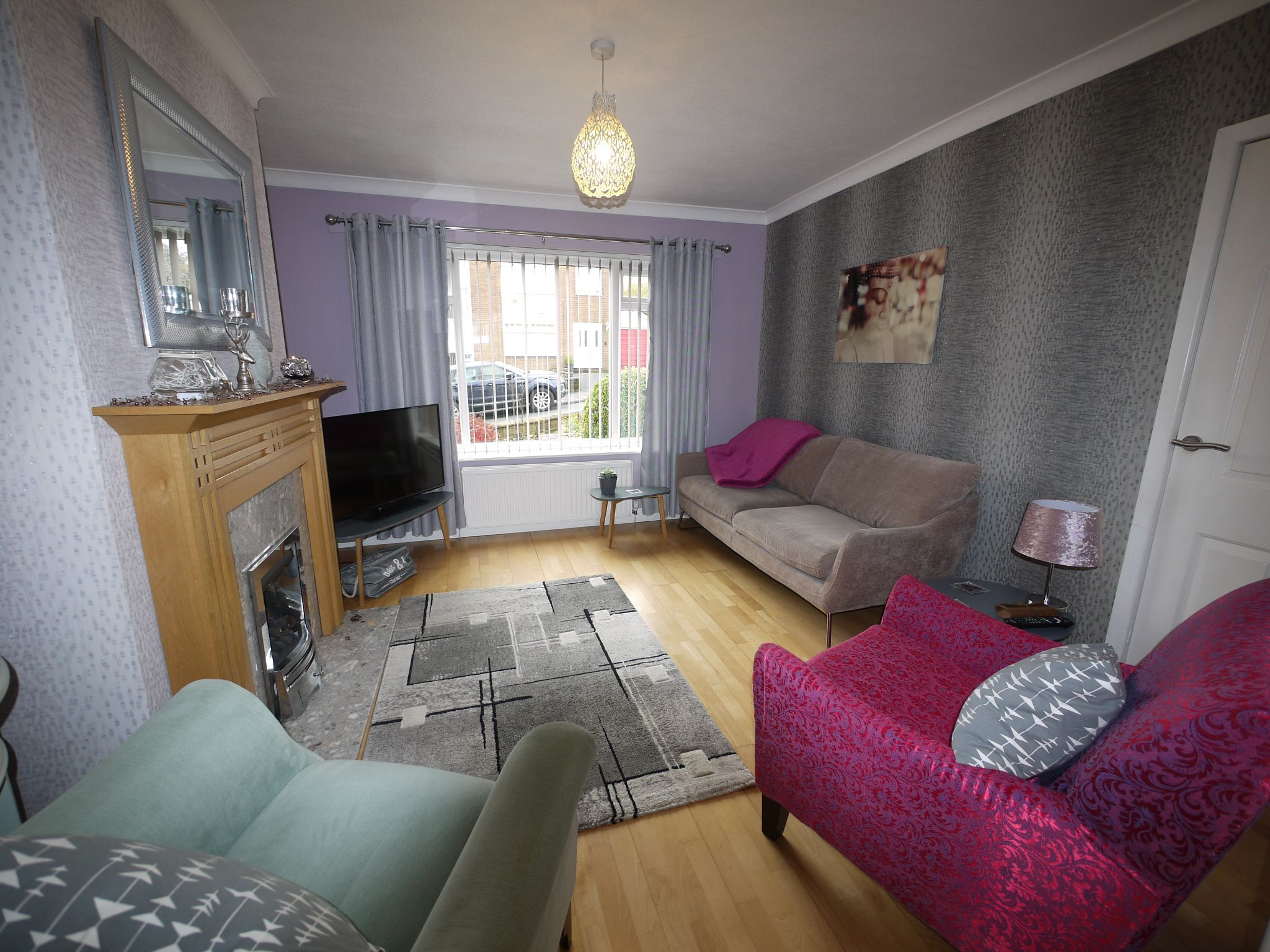 3 bedroom semi-detached house SSTC in Brighouse - Lounge.