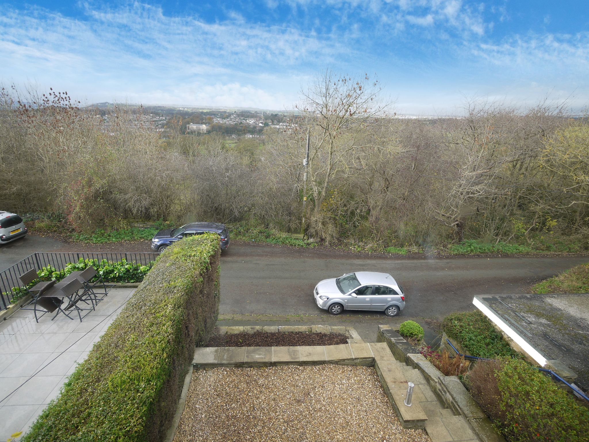 3 bedroom end terraced house SSTC in Brighouse - View from front.