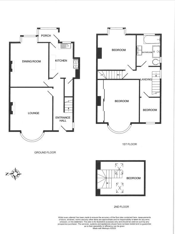 4 bedroom semi-detached house SSTC in Brighouse - Floorplan 1.