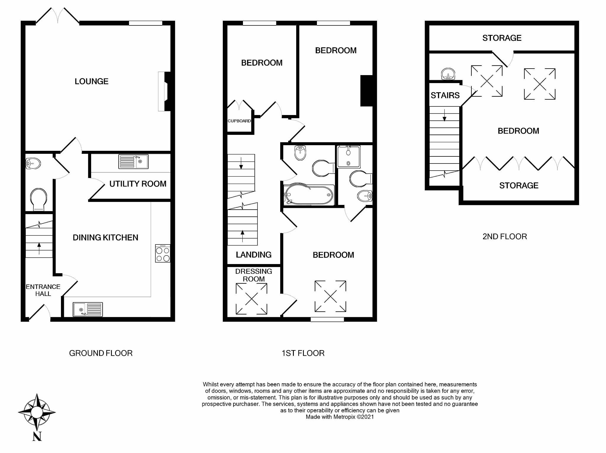 4 bedroom barn character property For Sale in Brighouse - Floorplan 1.
