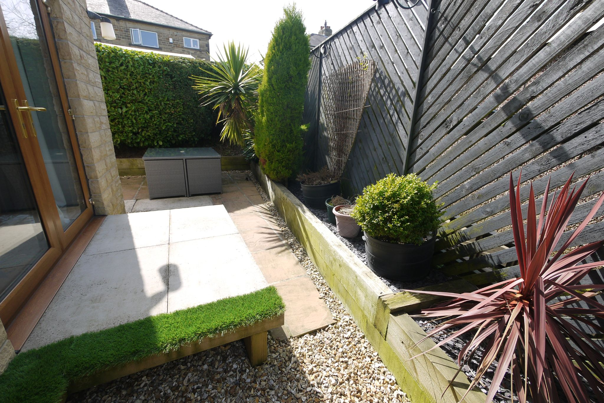 4 bedroom detached house SSTC in Brighouse - Rear garden 2.