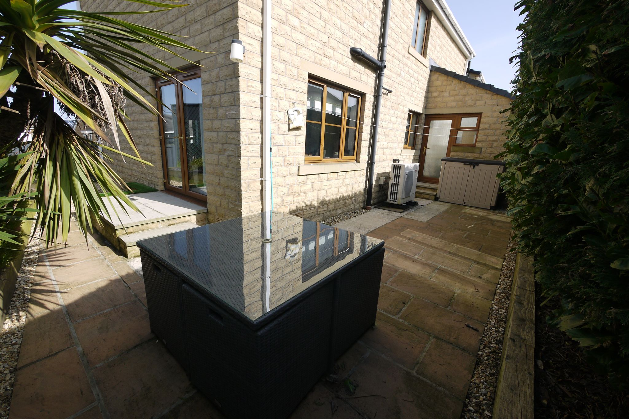 4 bedroom detached house SSTC in Brighouse - Side garden 2.