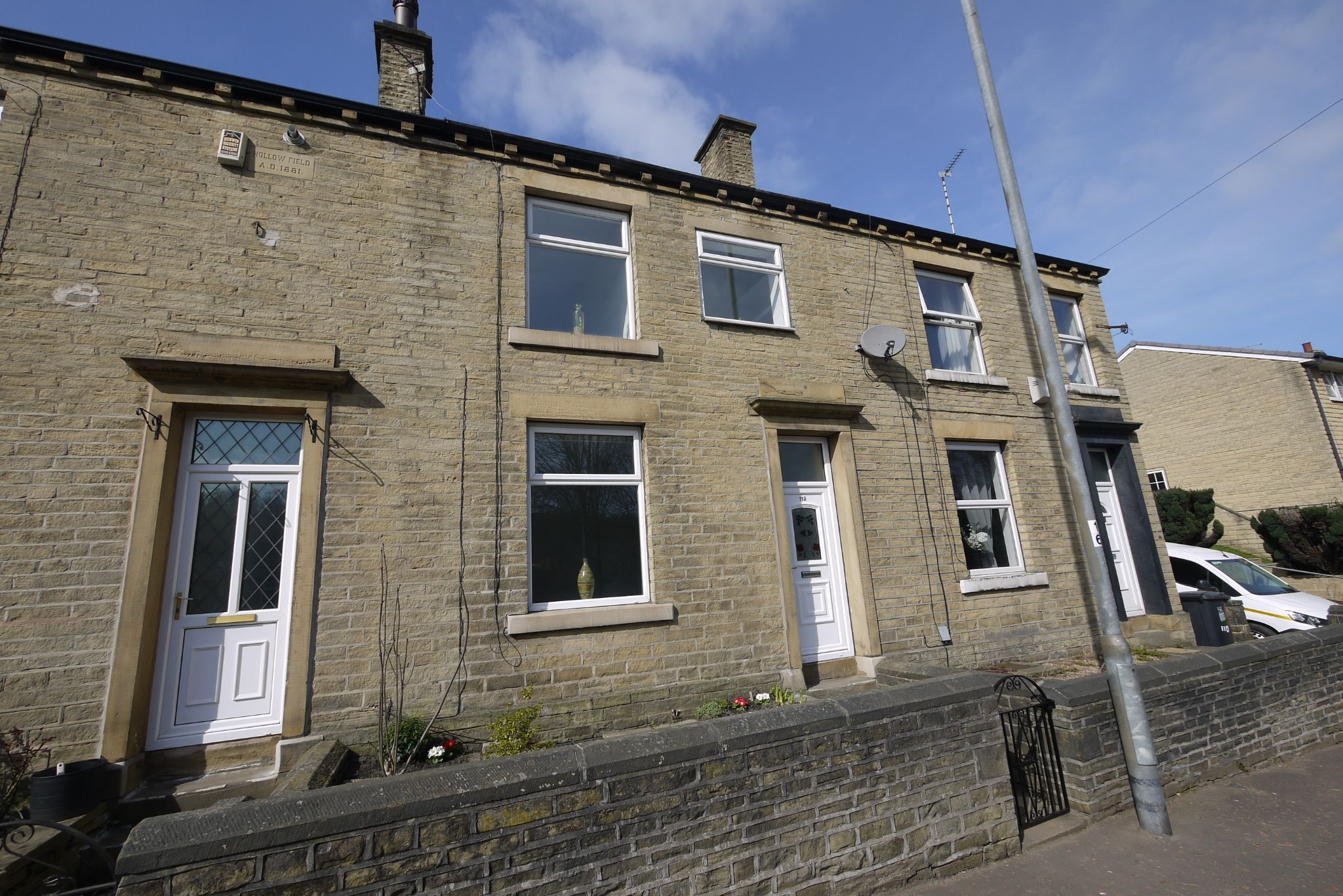 2 bedroom mid terraced house SSTC in Calderdale - Photograph 1.