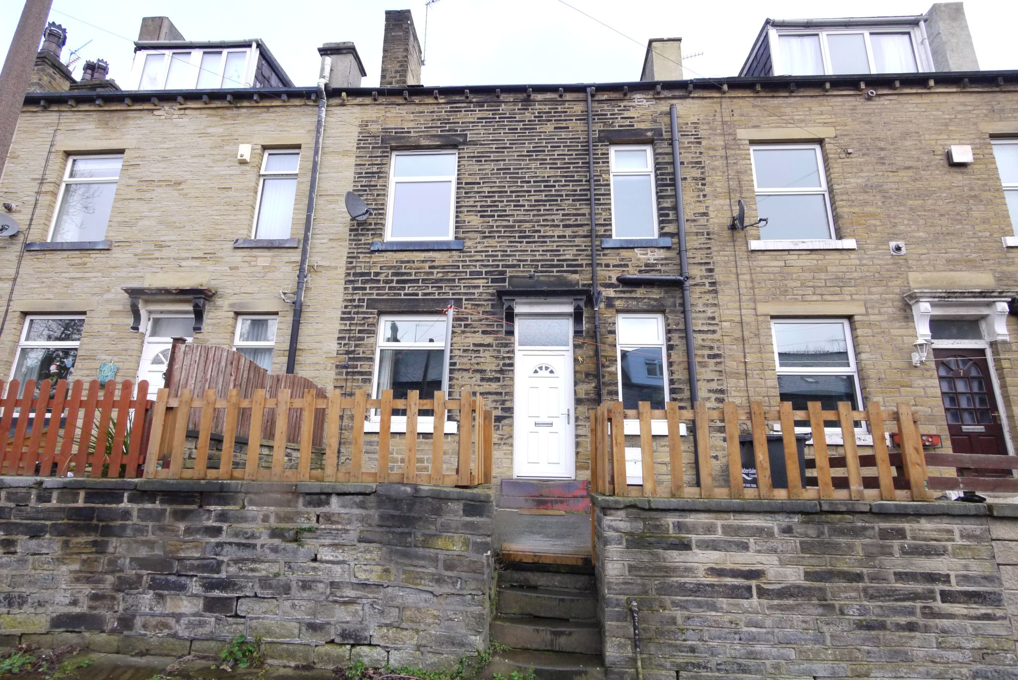 2 bedroom mid terraced house SSTC in Halifax - Photograph 1.